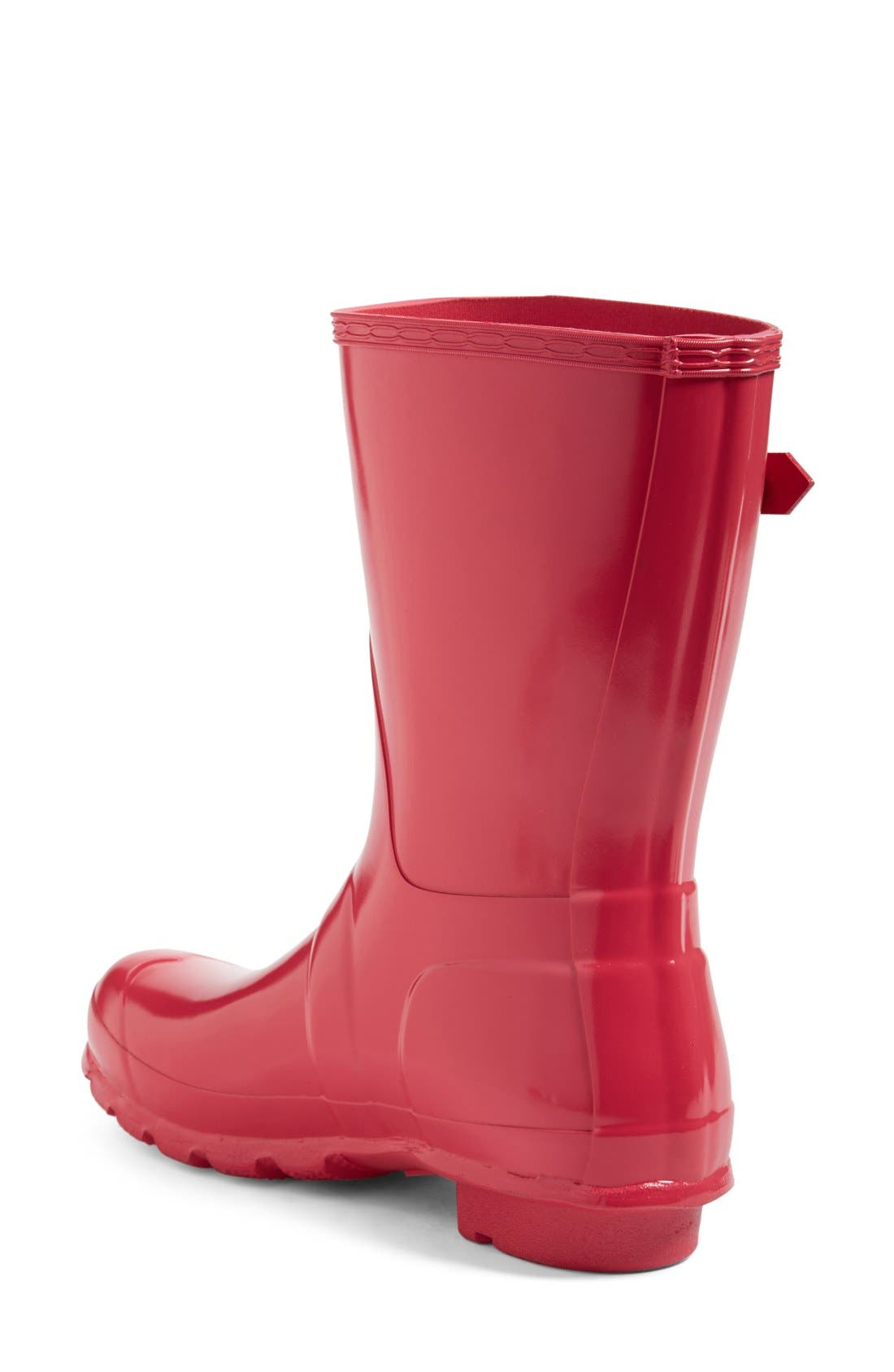 Original Short Gloss Rain Boot,                             Alternate thumbnail 2, color,                             BRIGHT PINK