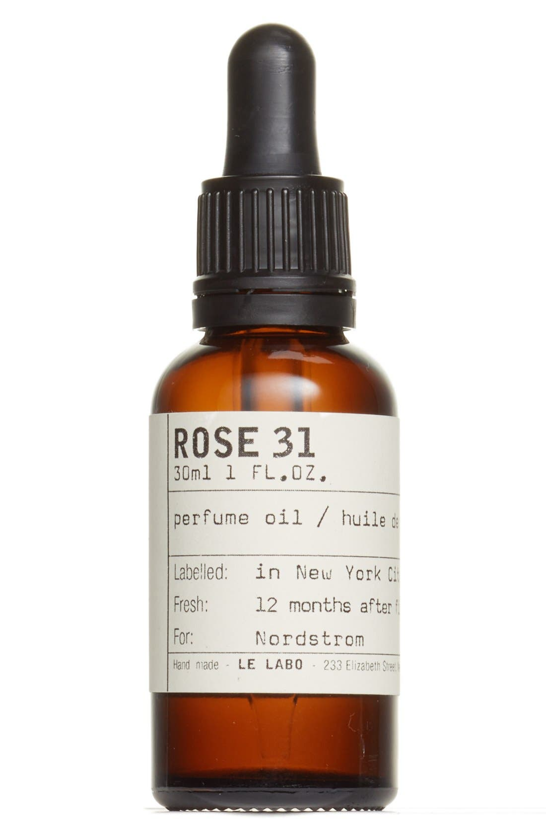 Rose 31 Perfume Oil,                             Main thumbnail 1, color,                             NO COLOR
