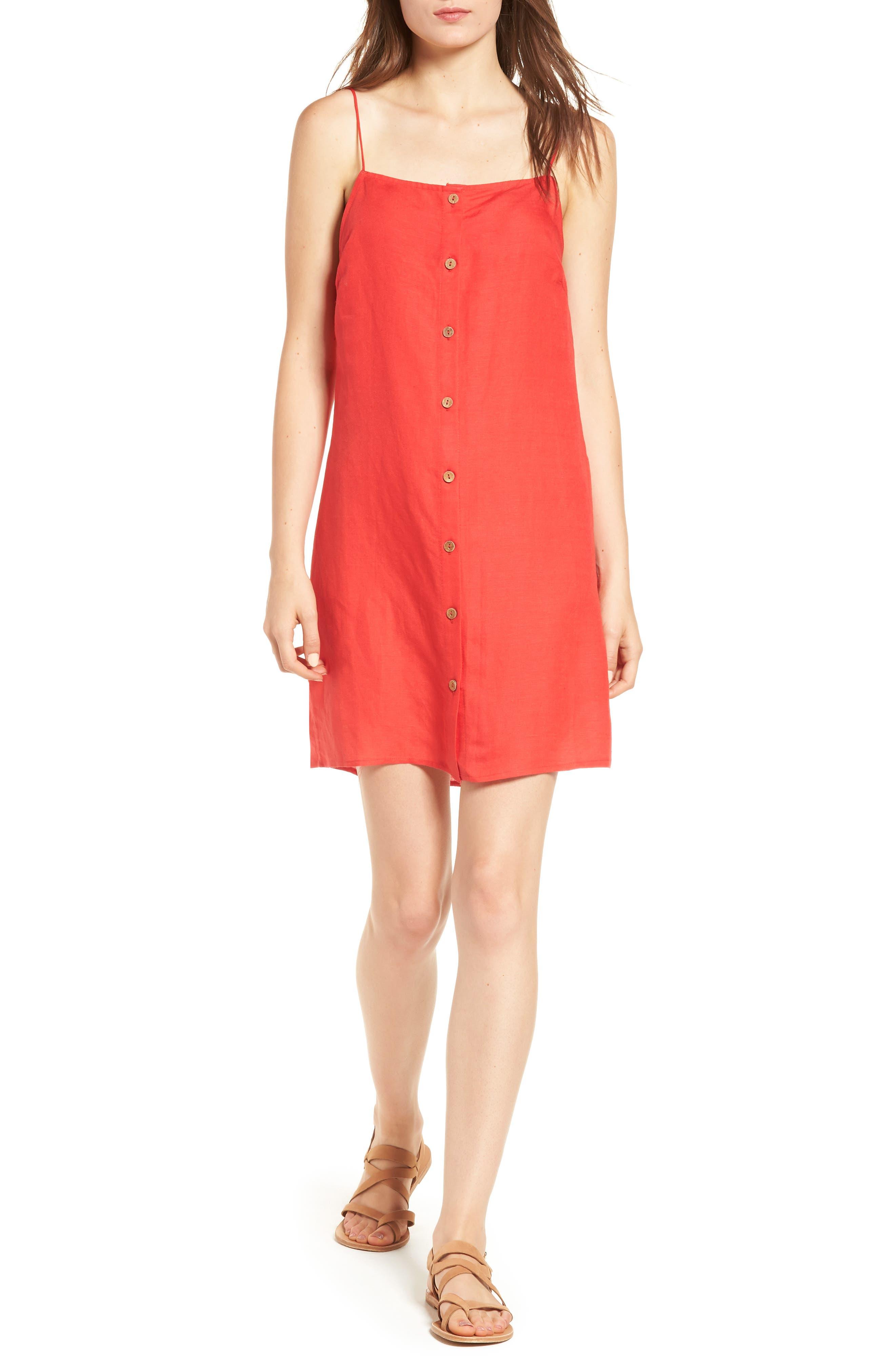 Woven Shift Dress,                         Main,                         color, 626