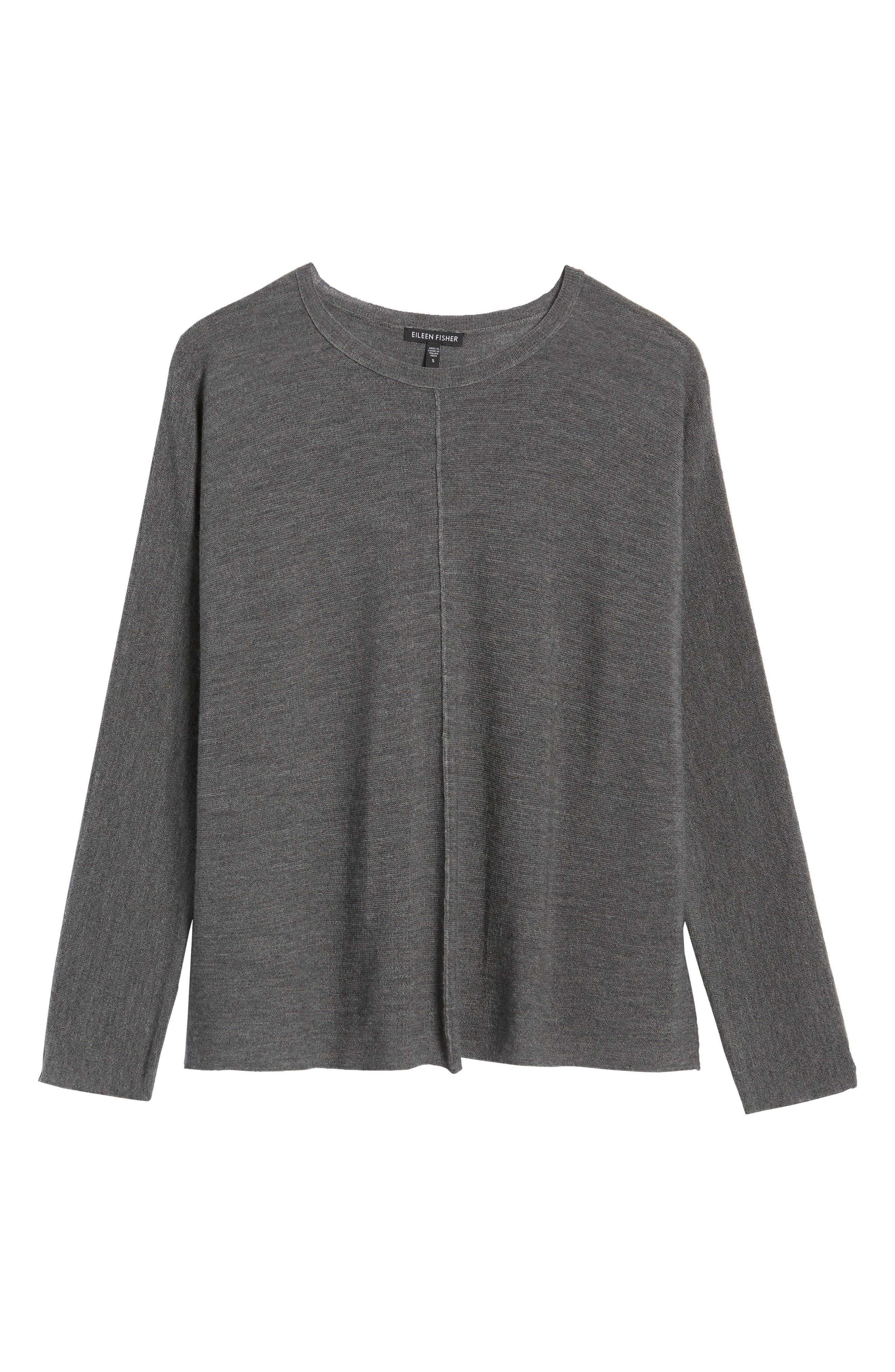 Merino Wool Sweater,                             Alternate thumbnail 23, color,
