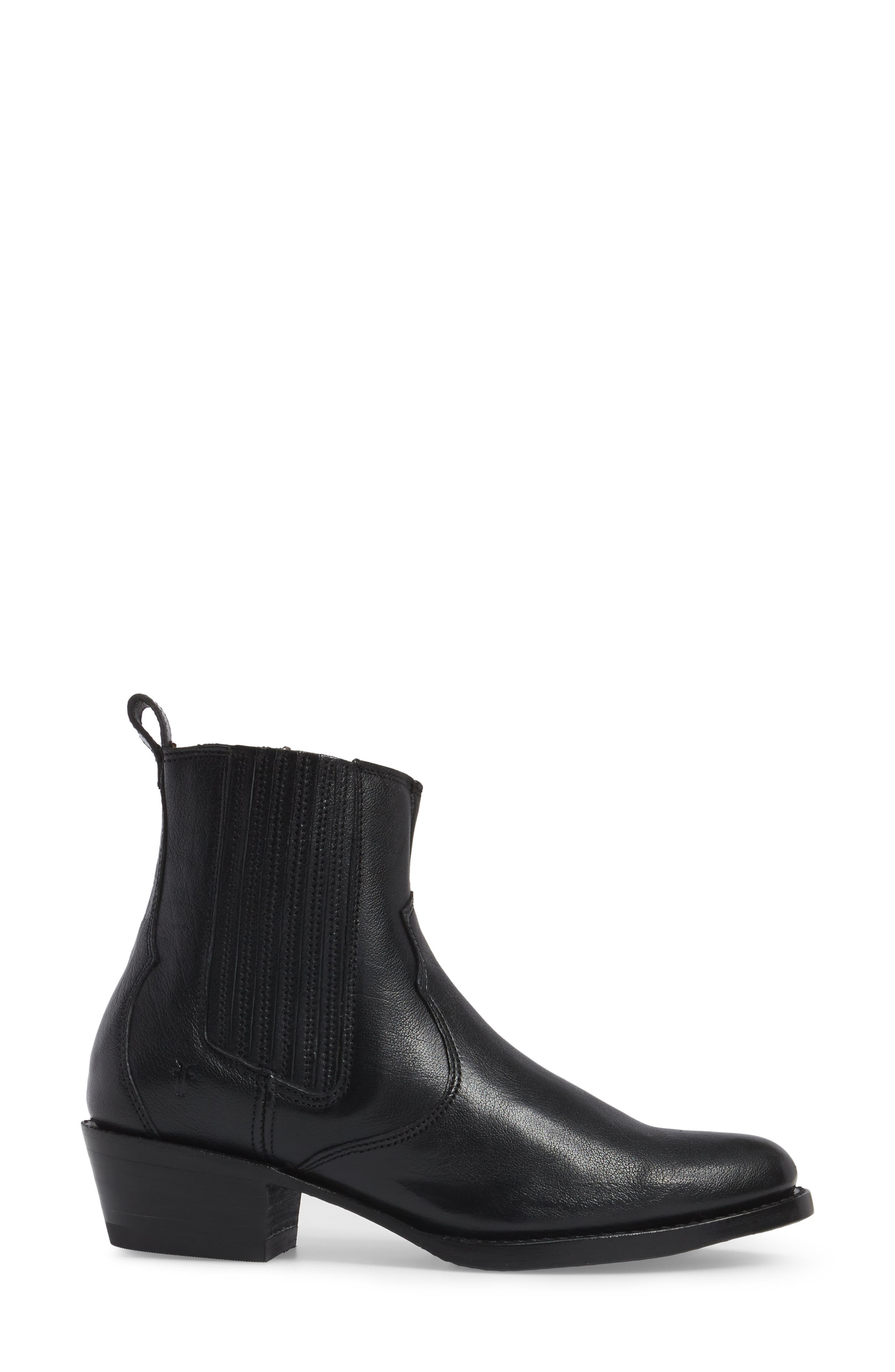 Diana Chelsea Boot,                             Alternate thumbnail 3, color,                             001