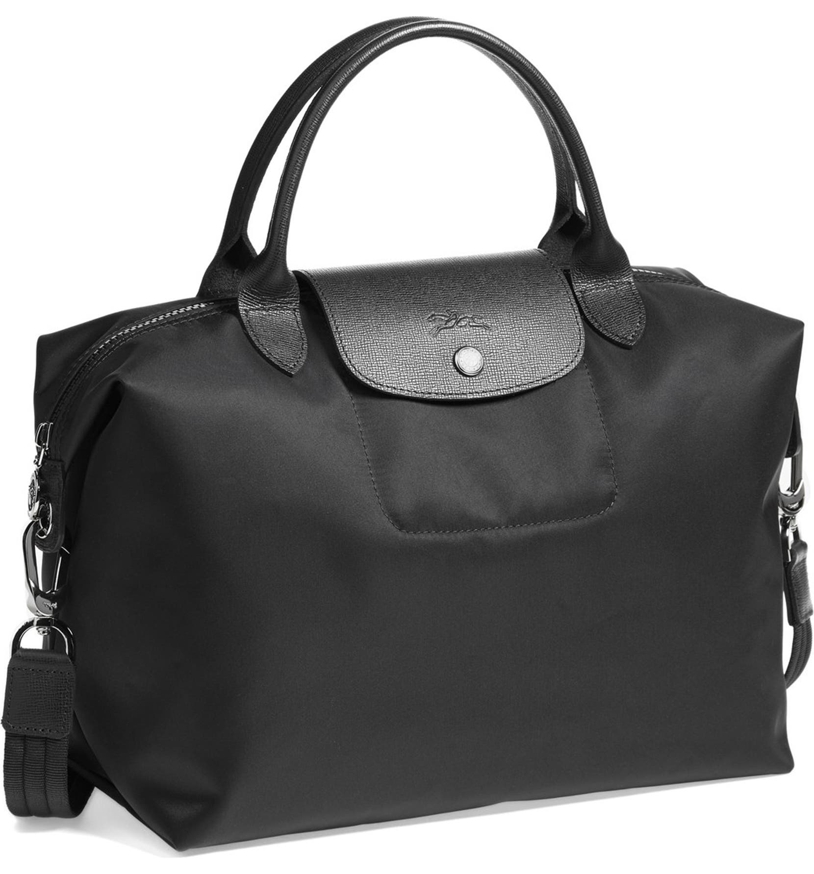 5d1dee56157f Longchamp  Medium Le Pliage Neo  Nylon Top Handle Tote