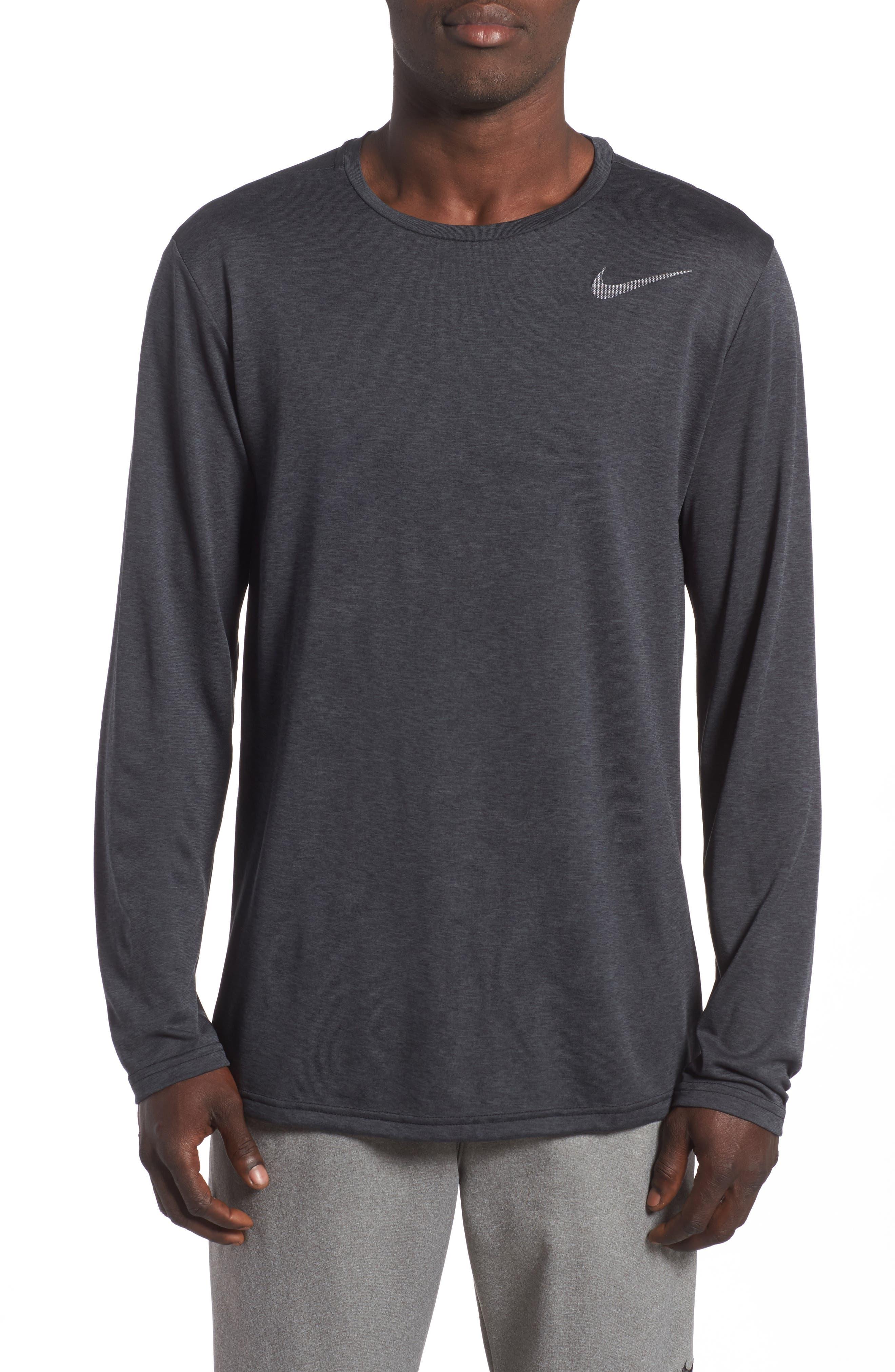 Long Sleeve Training T-Shirt,                         Main,                         color, 010
