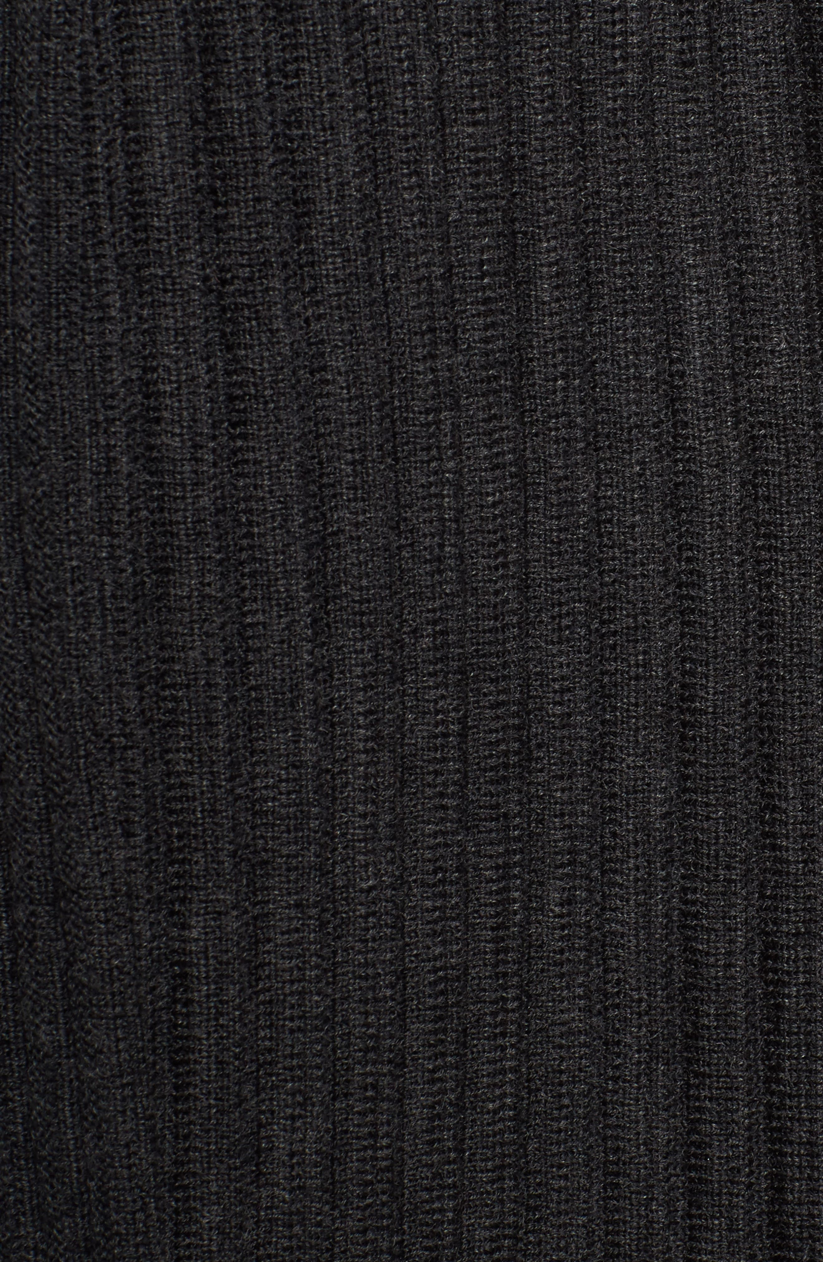 Ribbed Merino Wool Long Cardigan,                             Alternate thumbnail 26, color,