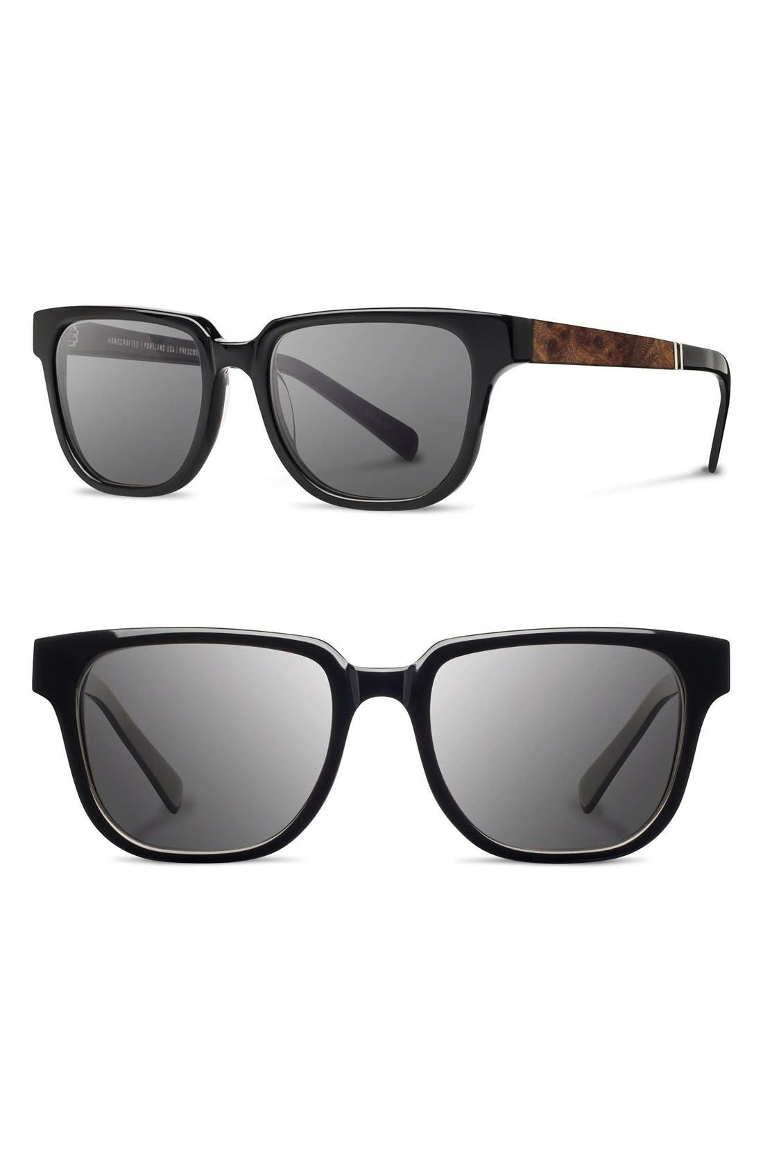 'Prescott' 52mm Polarized Sunglasses,                             Main thumbnail 2, color,