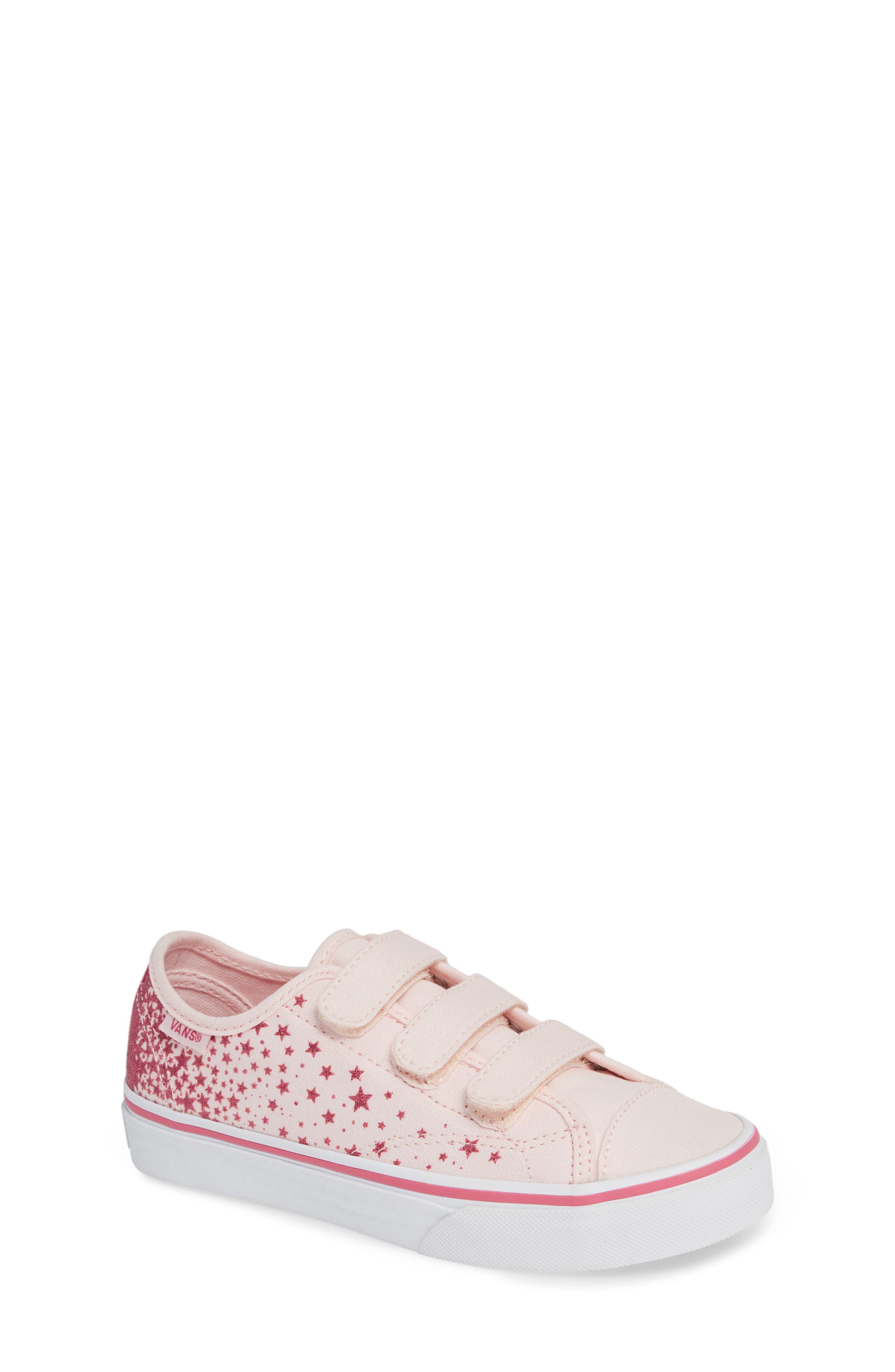 Style 23 V Glitter Sneaker,                             Main thumbnail 1, color,                             680