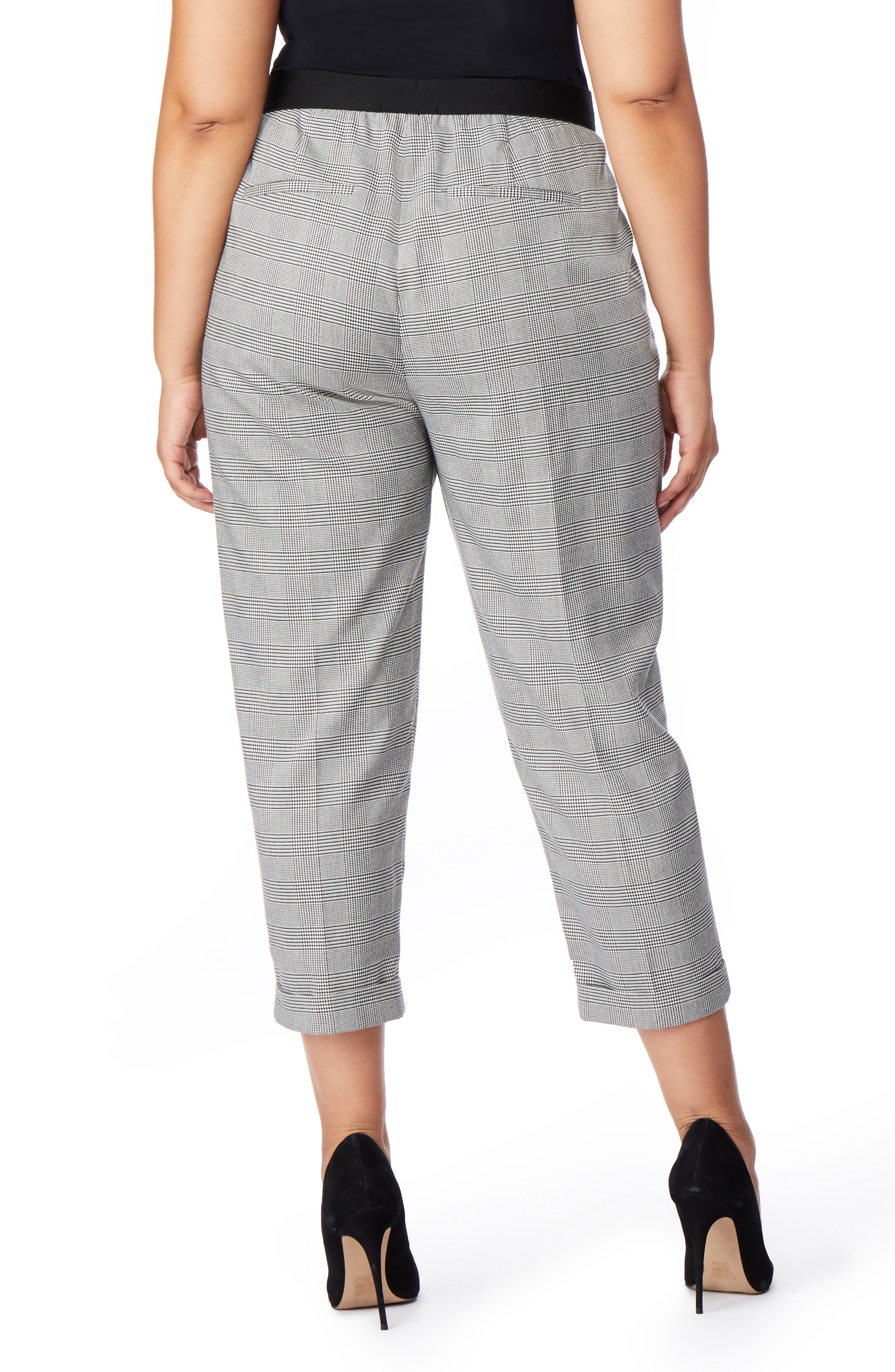Cuffed Tuxedo Pants,                             Alternate thumbnail 2, color,                             SMALL PARTON PLAID