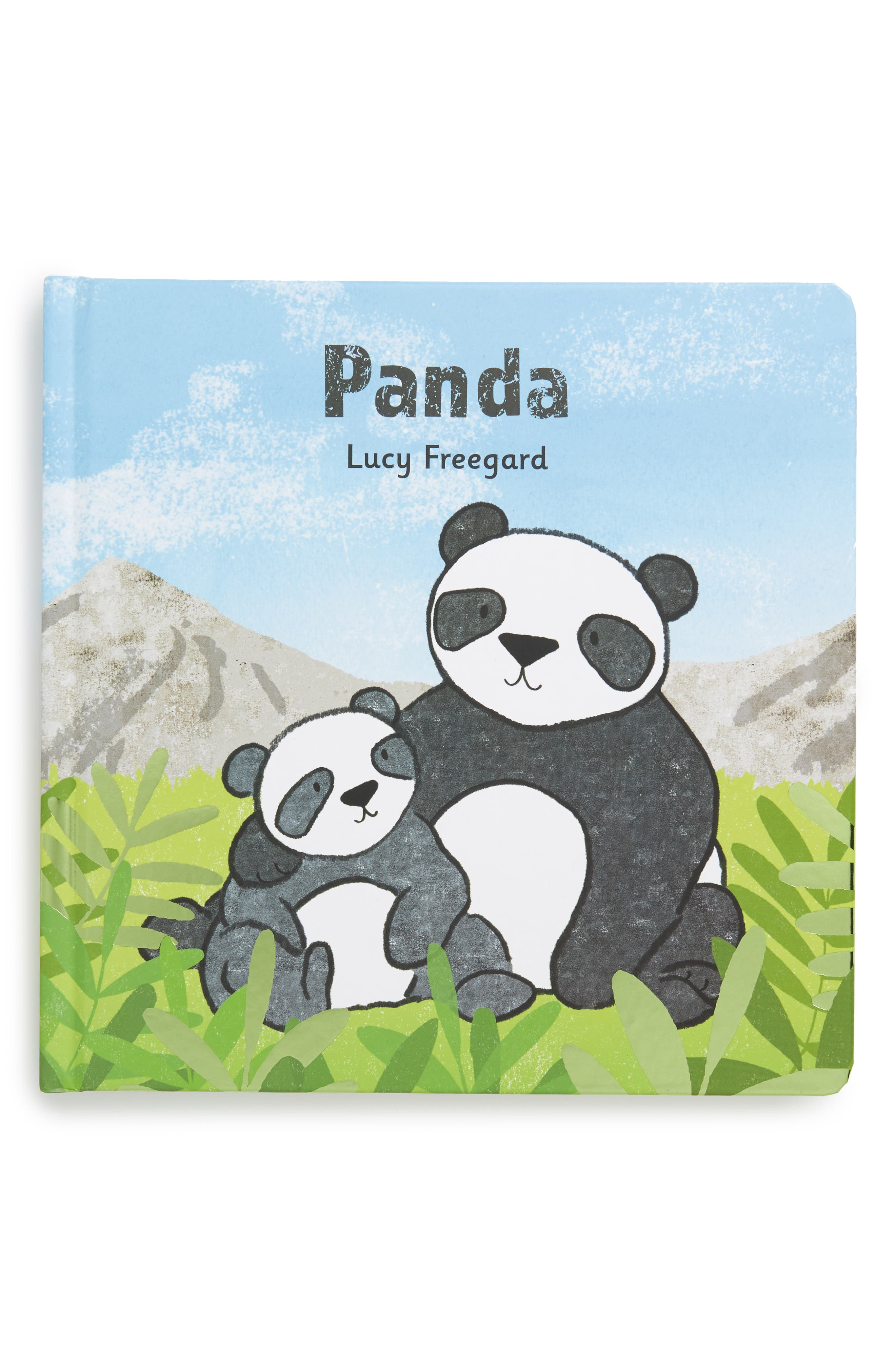 'Panda' Book,                             Main thumbnail 1, color,                             BLUE / GREEN