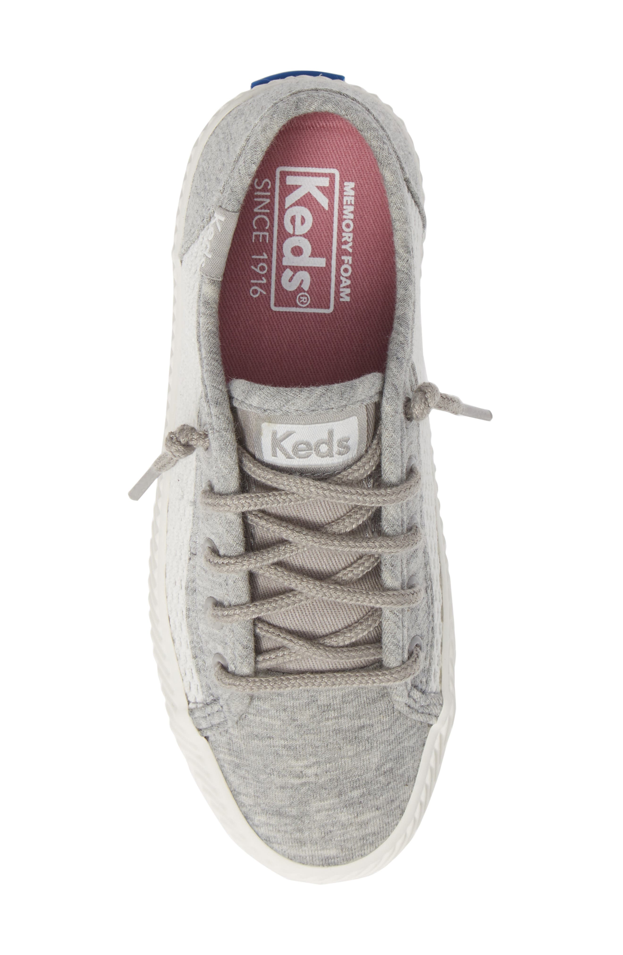 Kickstart Herringbone Mesh Sneaker,                             Alternate thumbnail 5, color,                             050