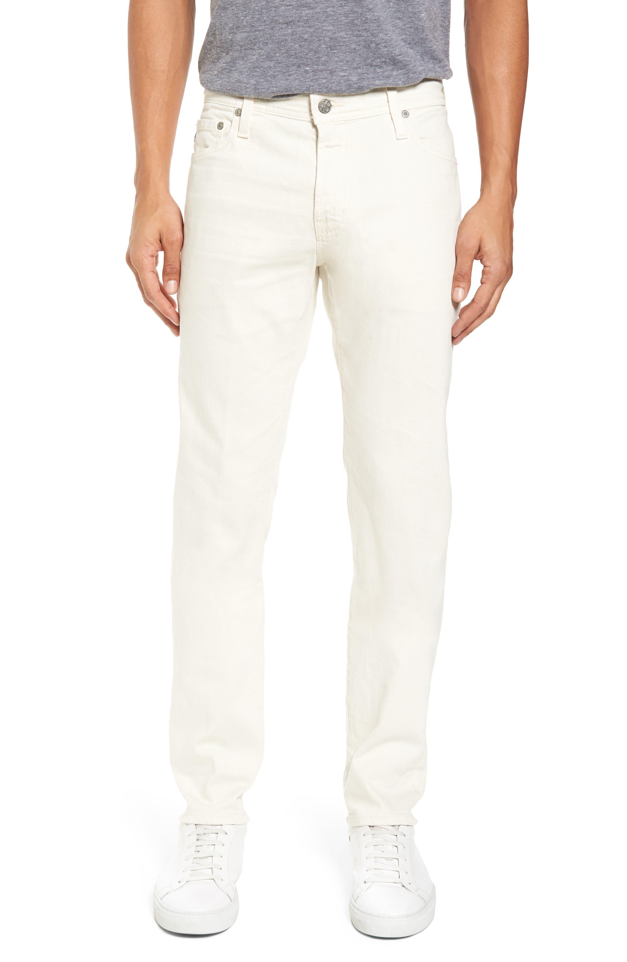 Tellis Modern Slim Twill Pants,                         Main,                         color, 020