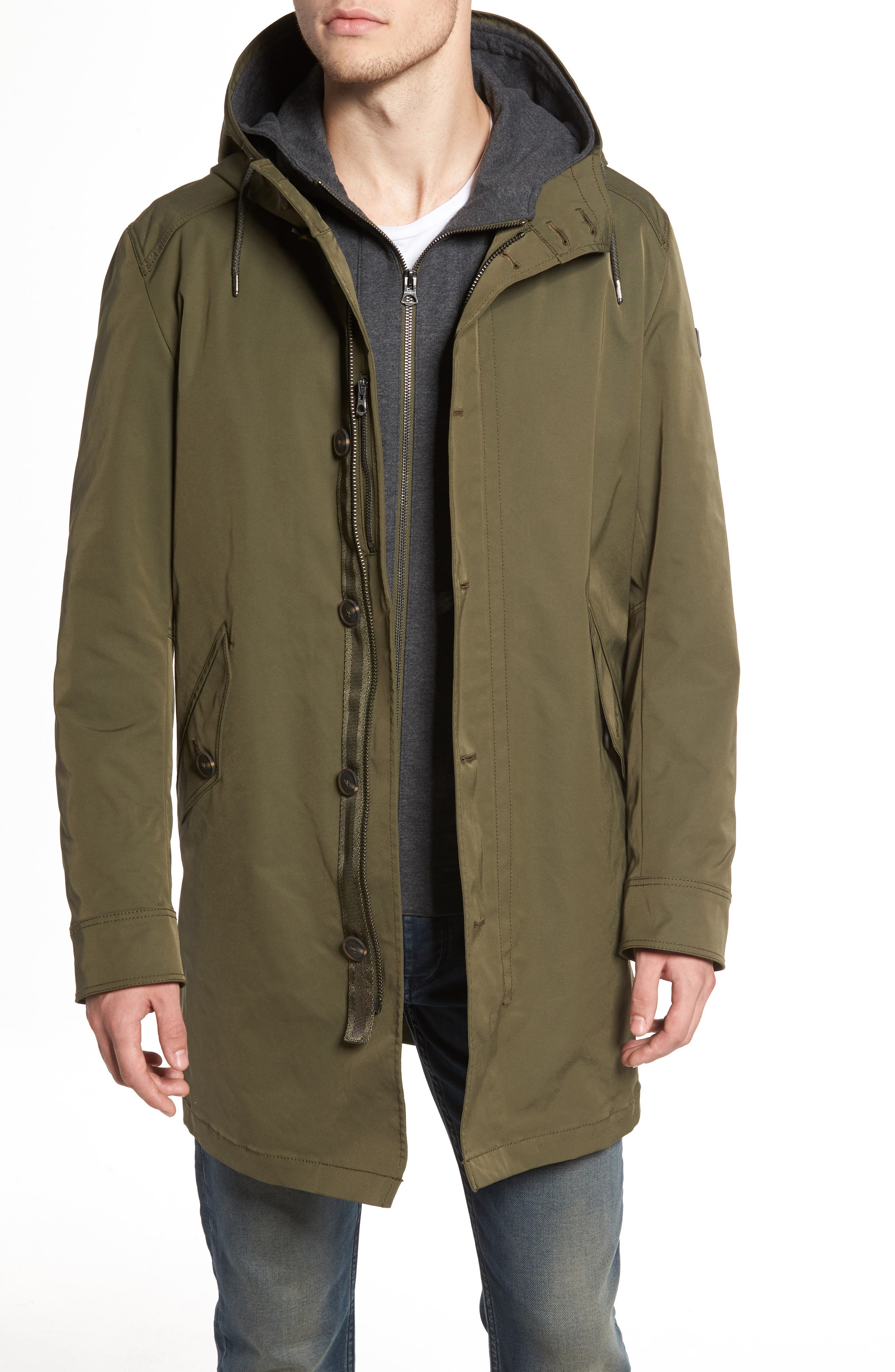 Odrax 3-in-1 Water Repellent Parka,                         Main,                         color,