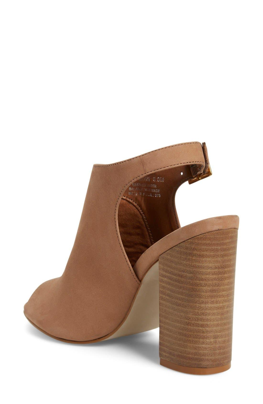 'Claara' Block Heel Sandal,                             Alternate thumbnail 8, color,