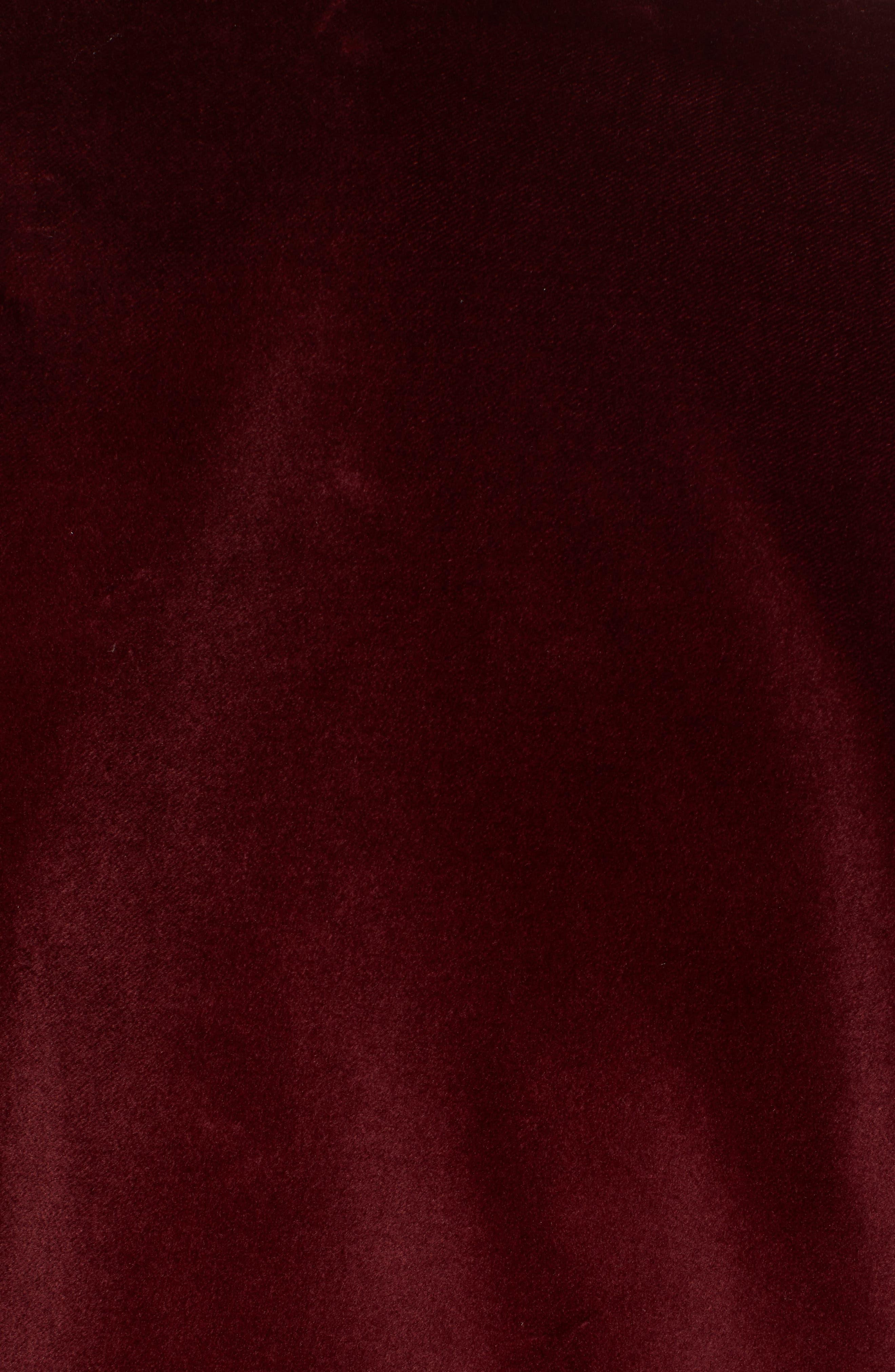 Hockley Slim Fit Velvet Cotton Dinner Jacket,                             Alternate thumbnail 5, color,                             DARK PURPLE