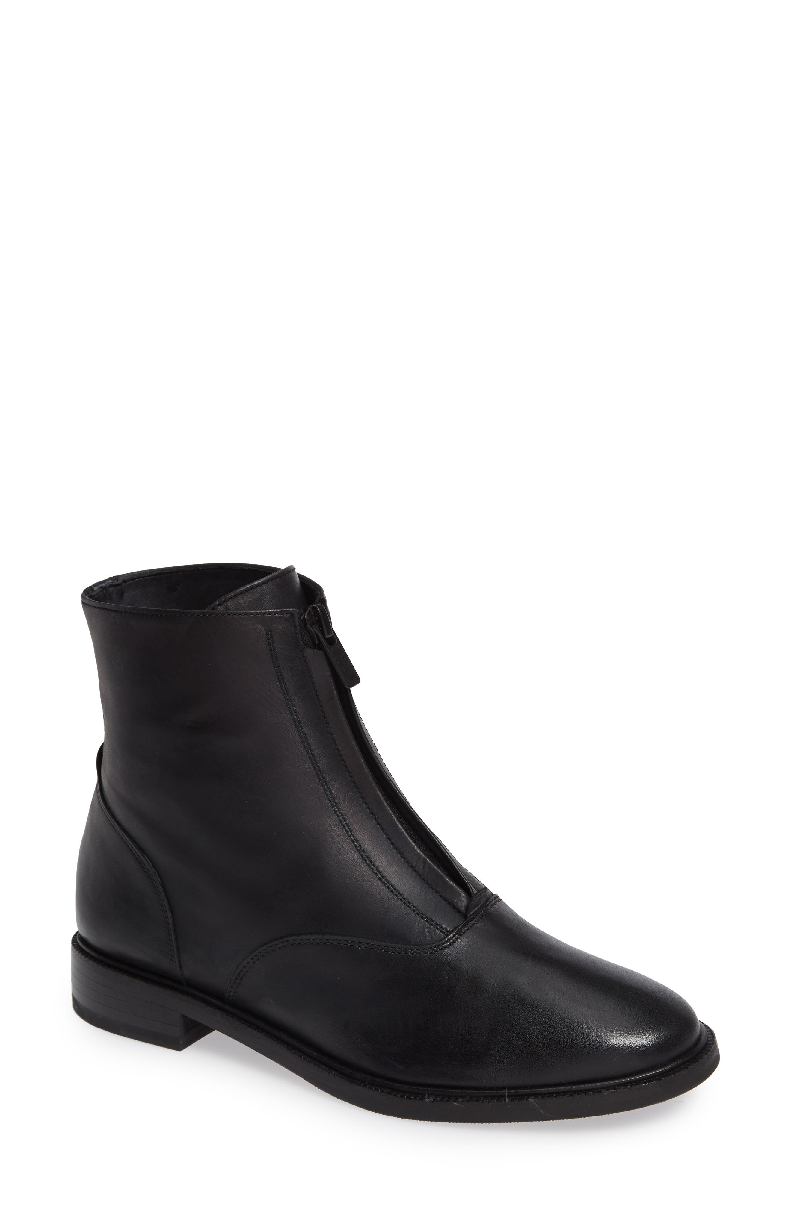 Frye Kelly Zip Bootie, Black