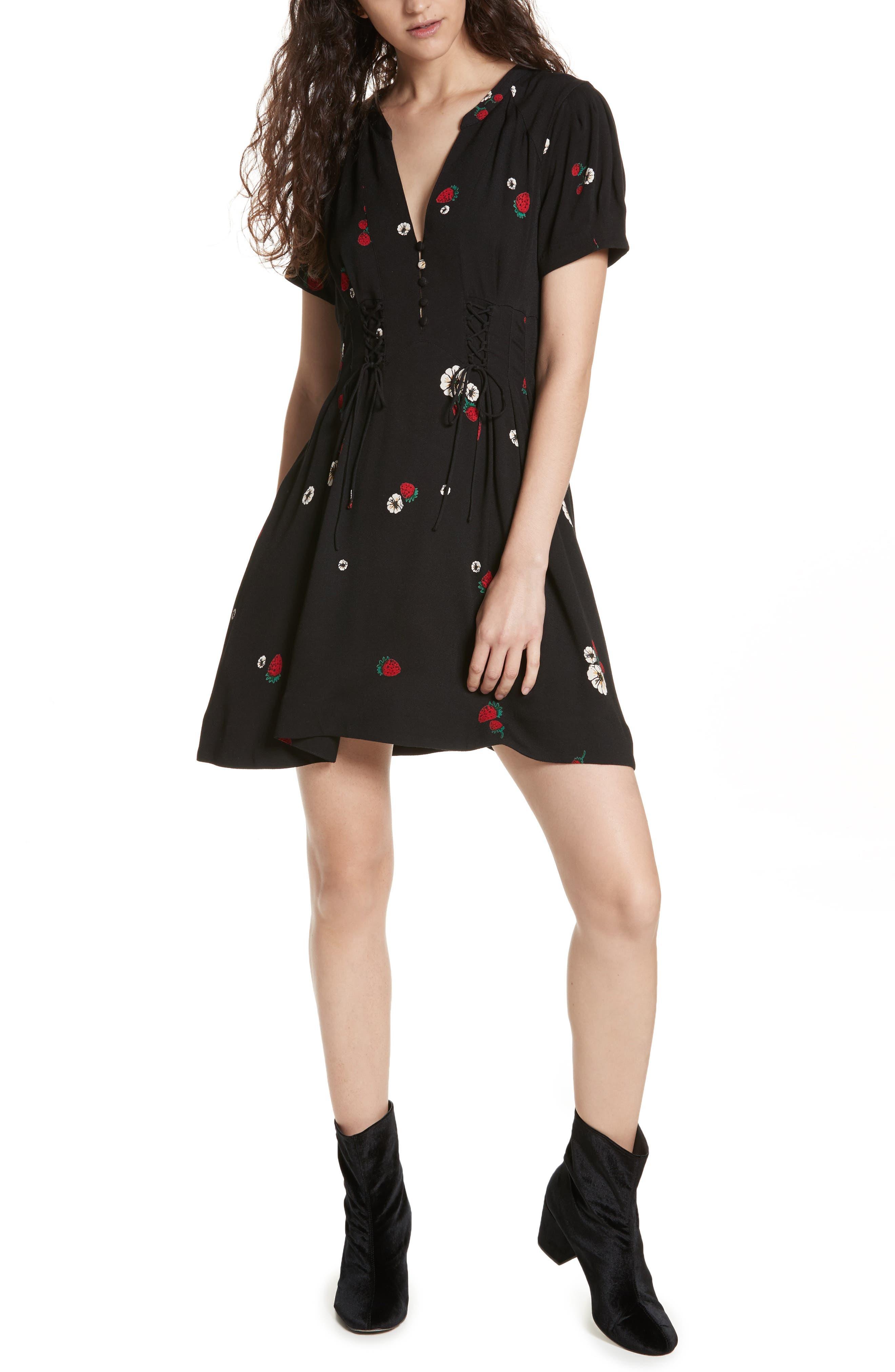 Dream Girl Dress,                             Alternate thumbnail 5, color,                             019