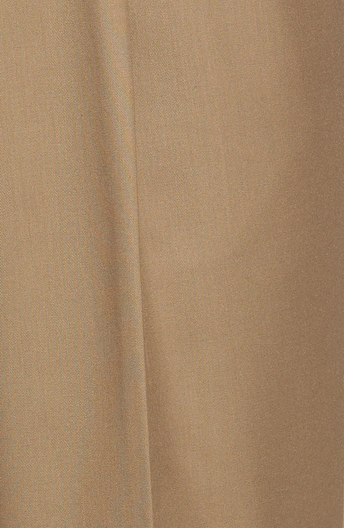Pleated Microfiber Dress Pants,                             Alternate thumbnail 26, color,