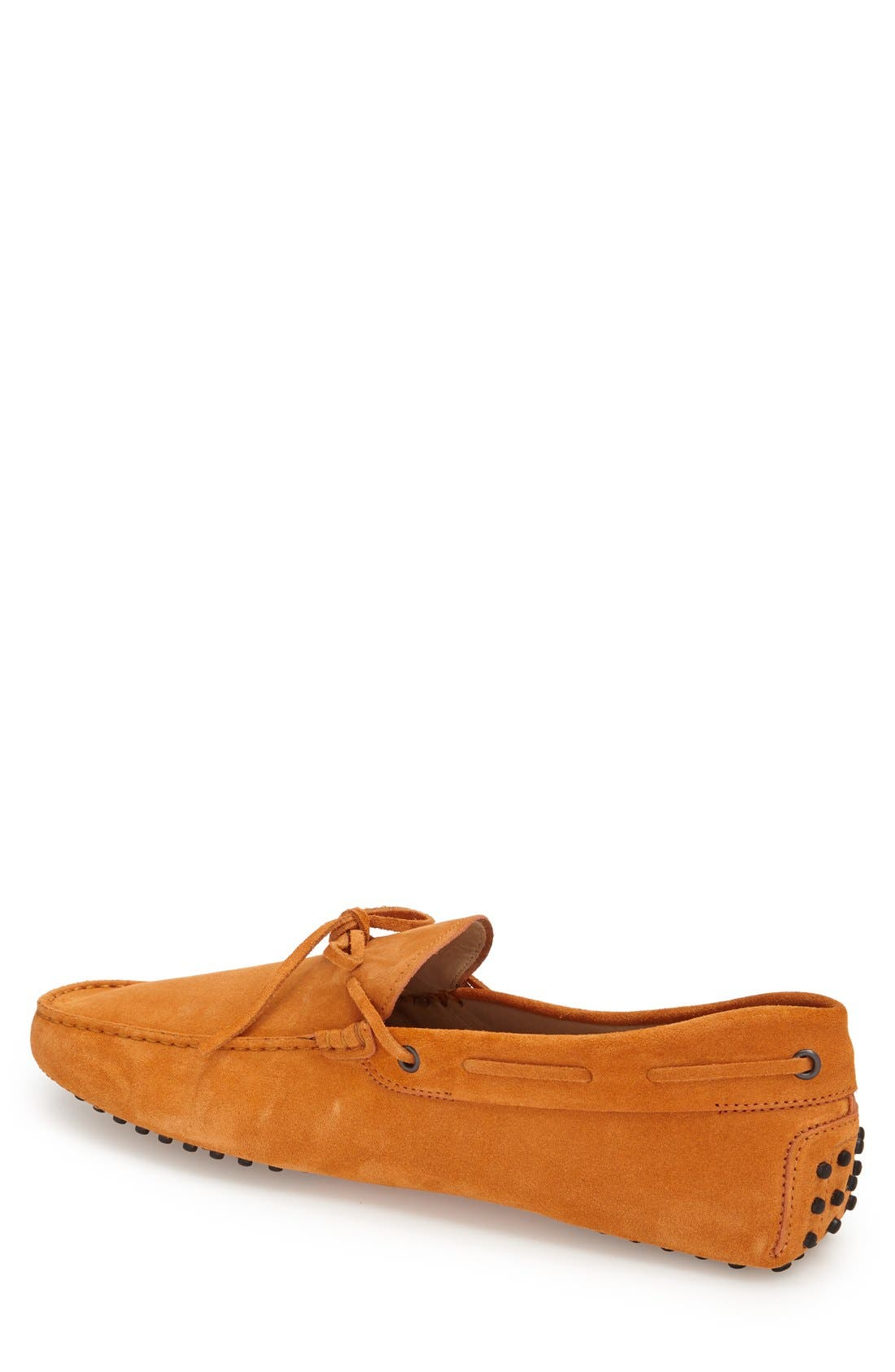 Gommini Tie Front Driving Moccasin,                             Alternate thumbnail 90, color,