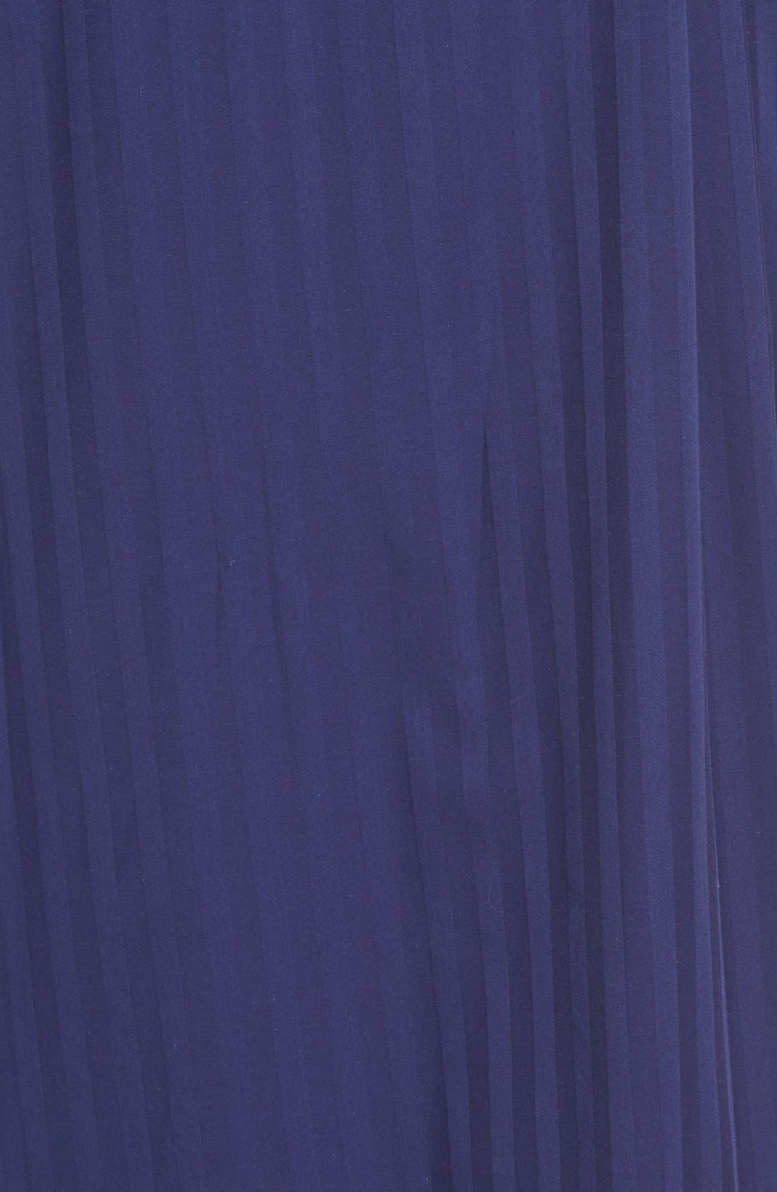 'Get the Blues' Terry Lined Robe,                             Alternate thumbnail 5, color,                             BLUE