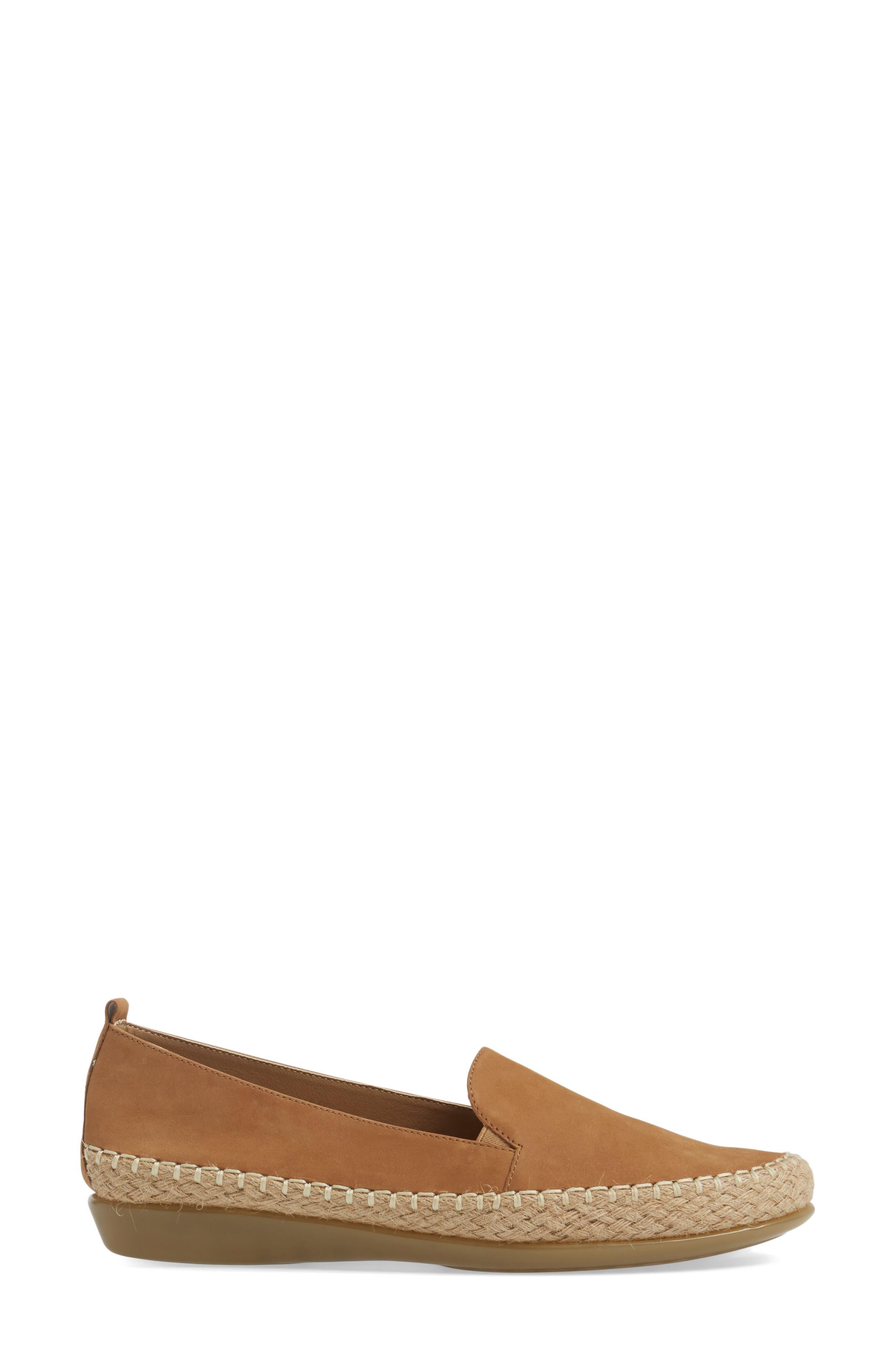 Nadette Espadrille Loafer Flat,                             Alternate thumbnail 10, color,