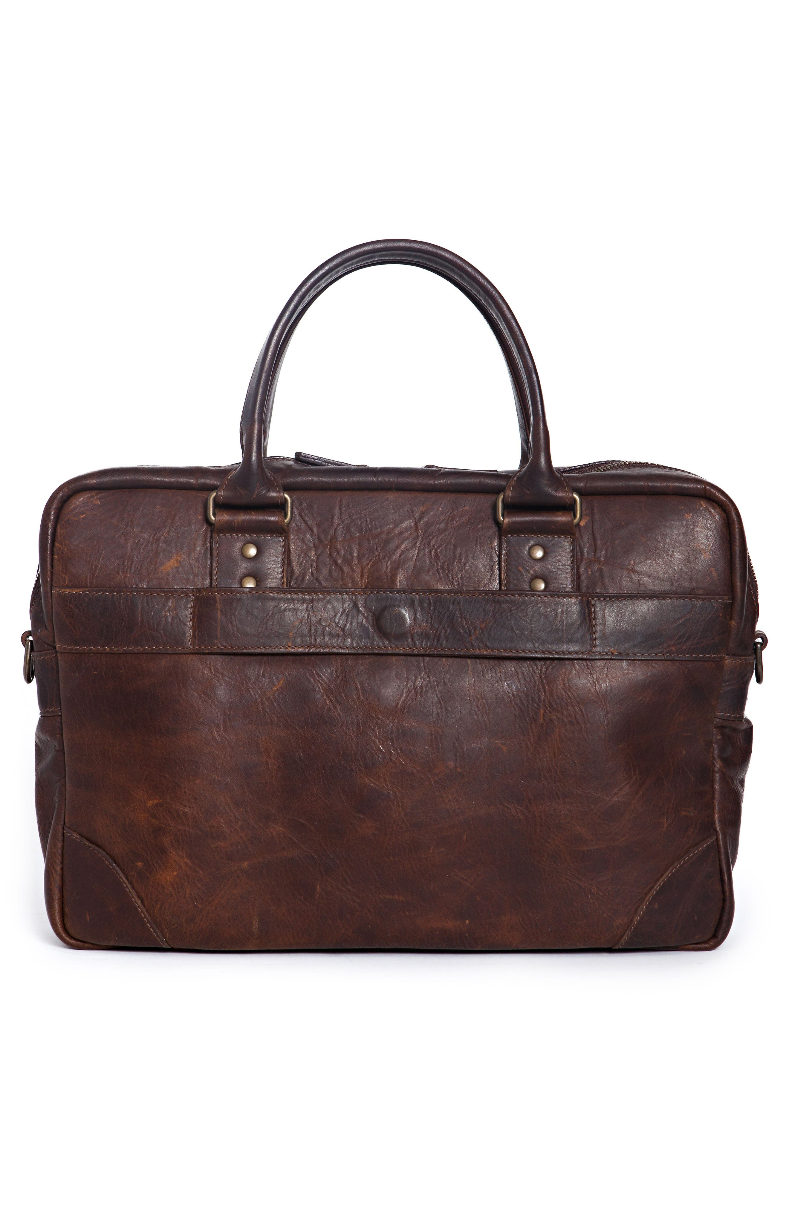 Haythe Leather Briefcase,                             Alternate thumbnail 2, color,