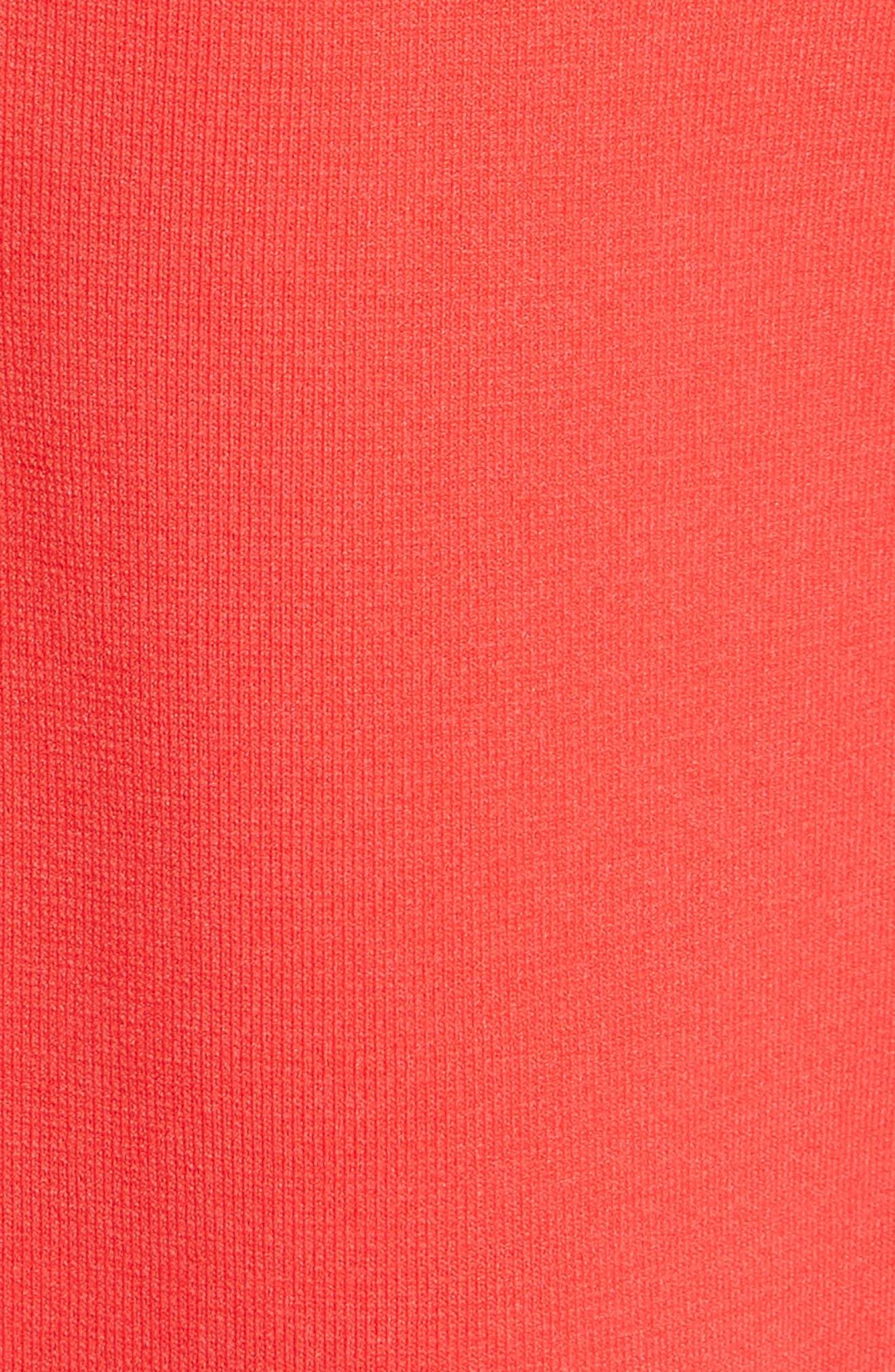 Tynia Peplum Ruffle Shift Dress,                             Alternate thumbnail 5, color,                             604