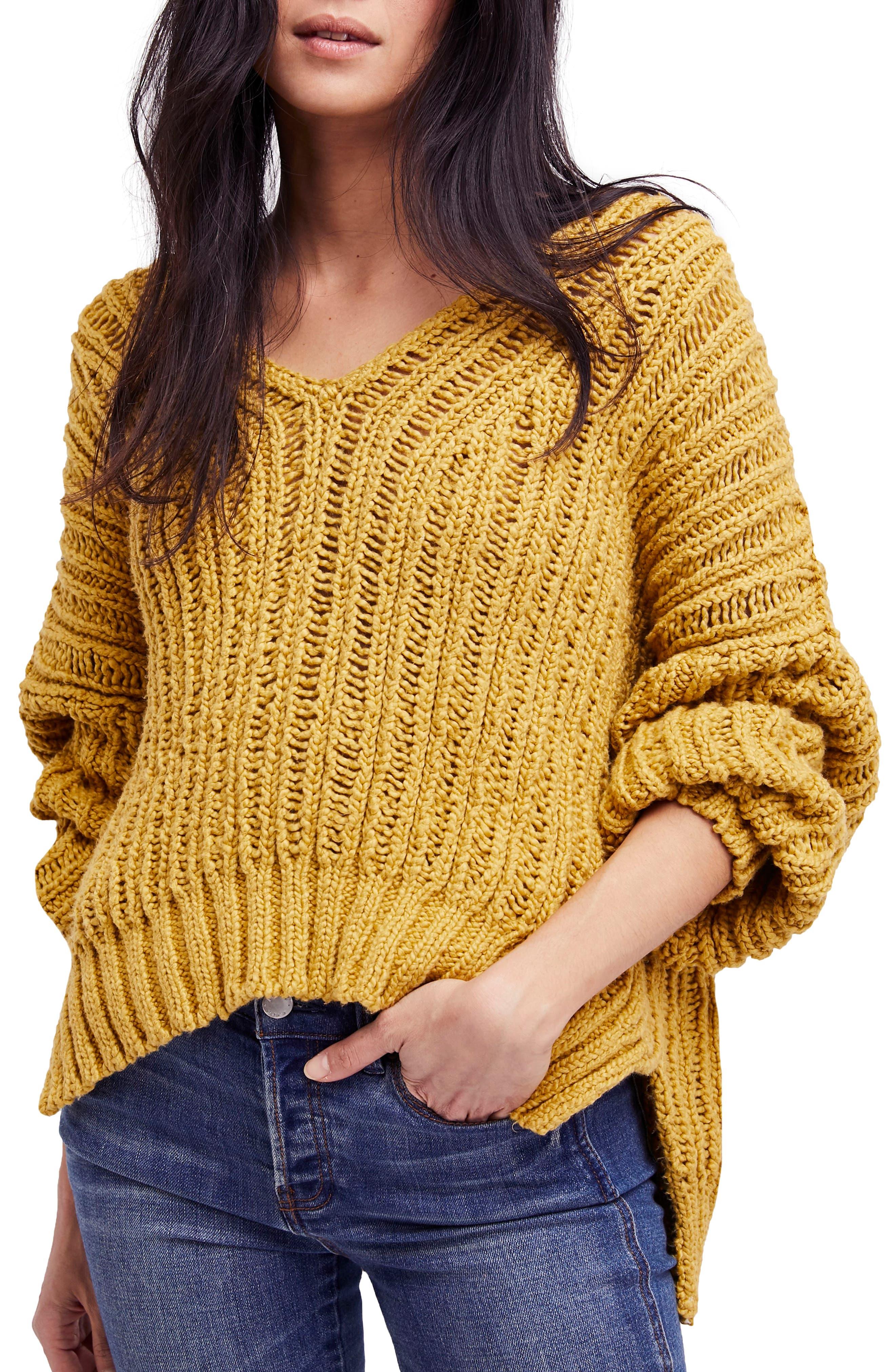 Infinite V-Neck Sweater,                             Main thumbnail 2, color,