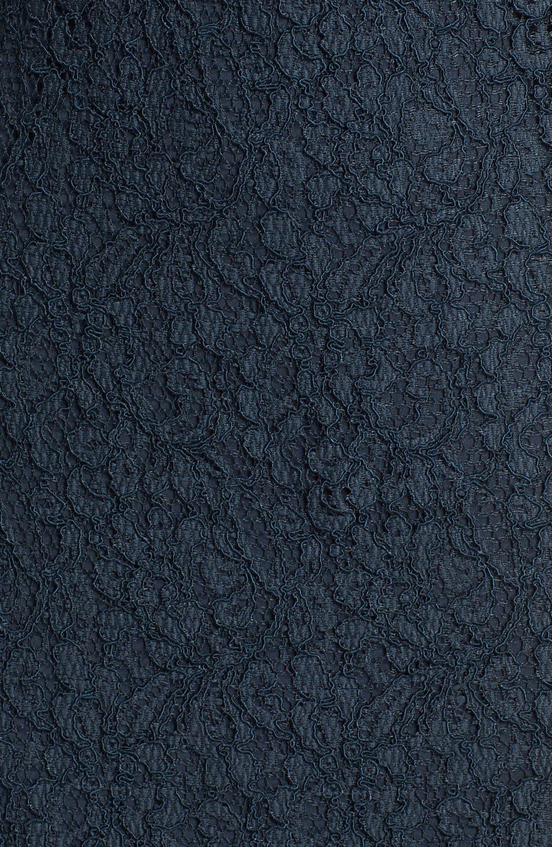 Boatneck Lace Sheath Dress,                             Alternate thumbnail 101, color,