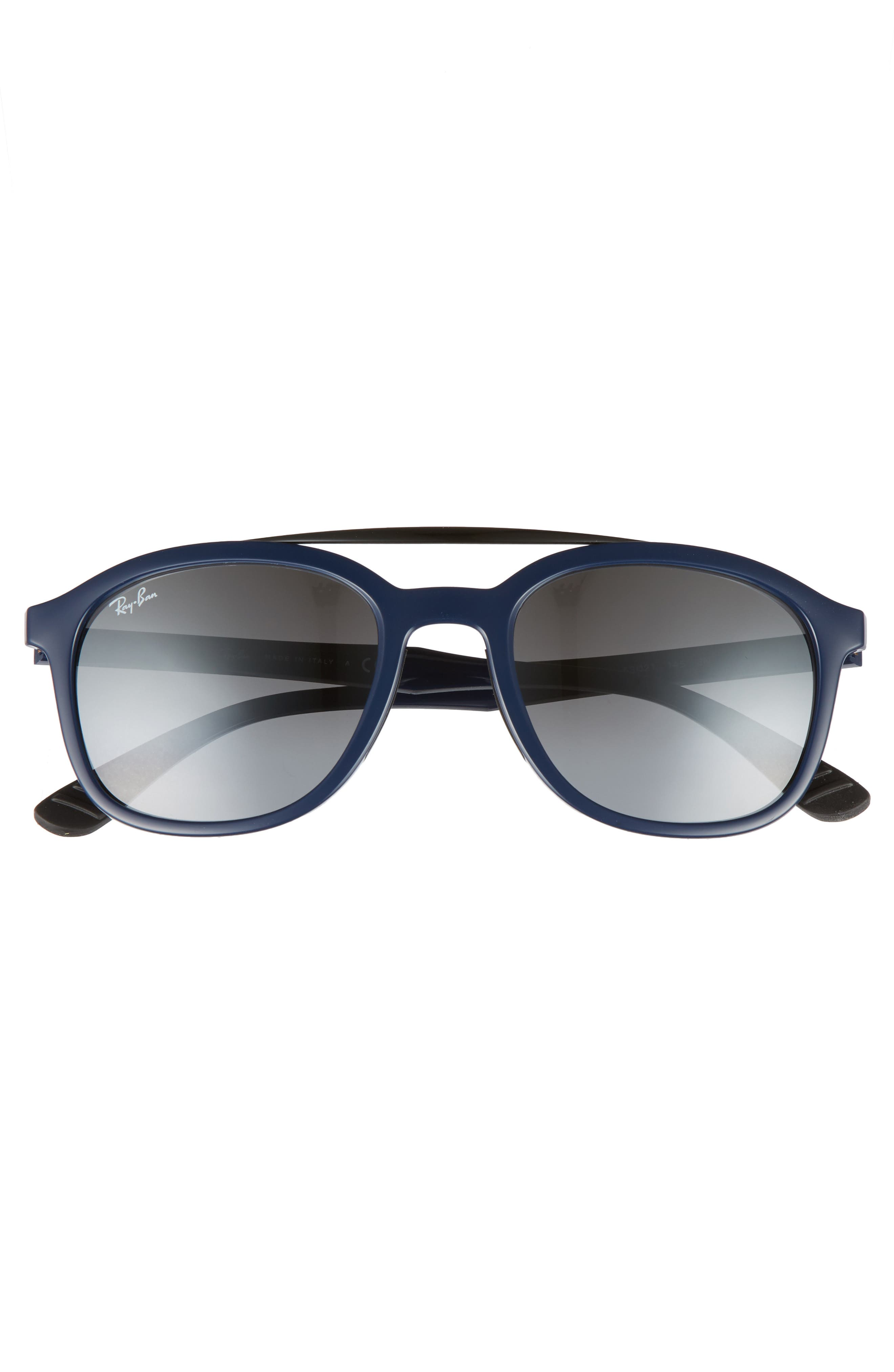 Active Lifestyle 53mm Sunglasses,                             Alternate thumbnail 2, color,                             BLUE