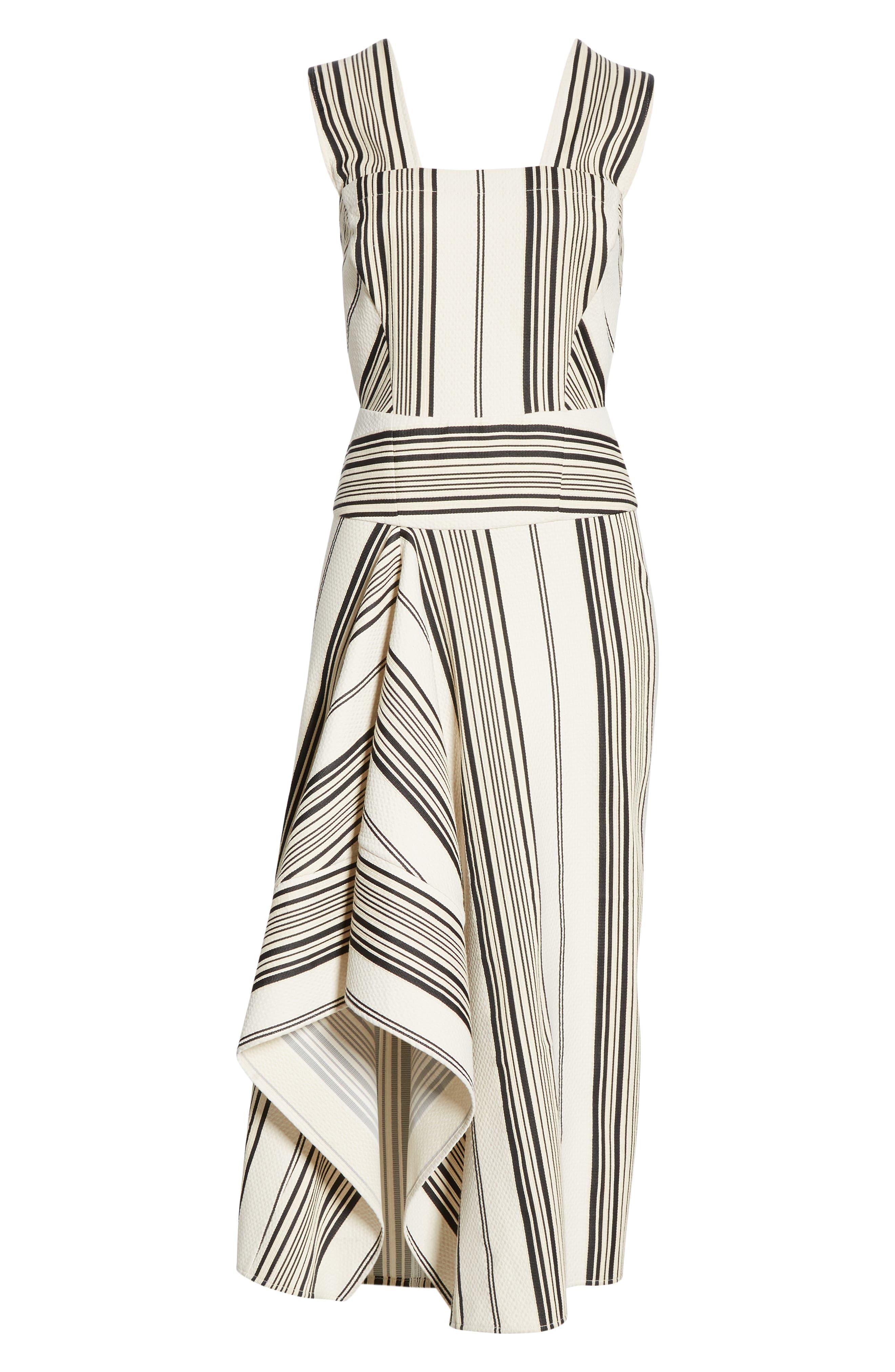 Eve Ero Dress,                             Alternate thumbnail 7, color,                             BLACK/ GREIGE