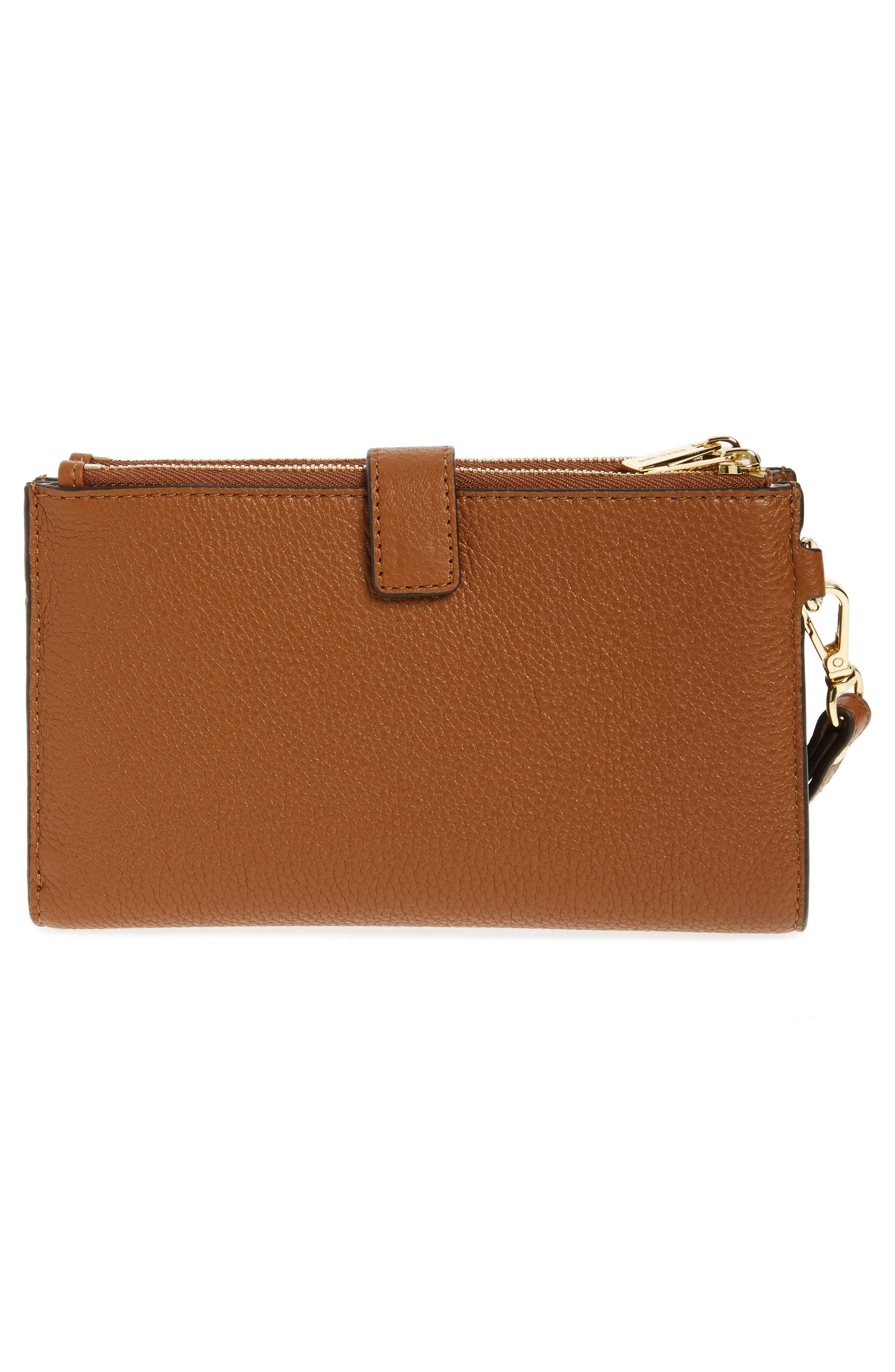 Adele Leather Wristlet,                             Alternate thumbnail 37, color,