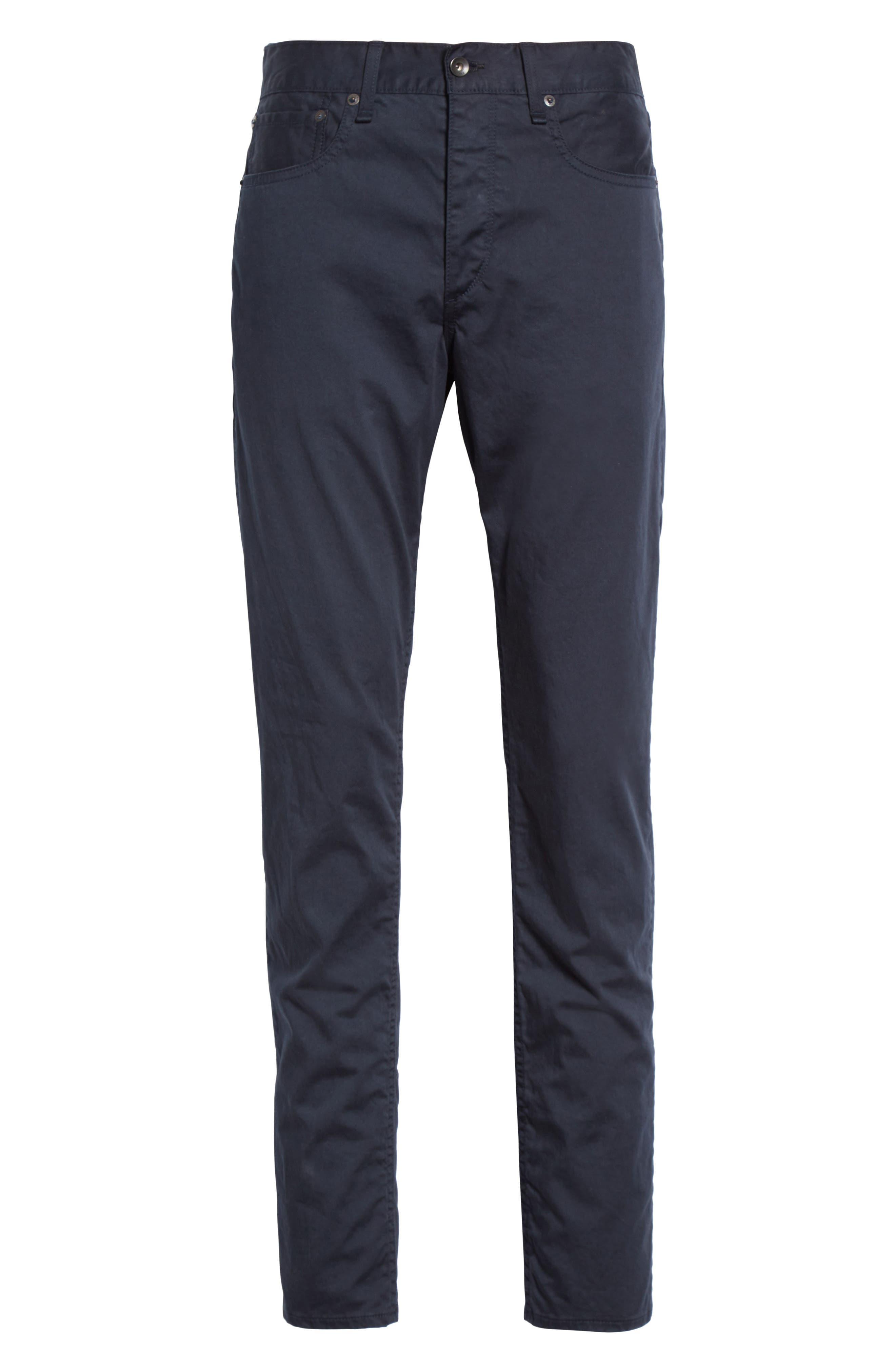 Fit 2 Five-Pocket Twill Pants,                             Alternate thumbnail 6, color,                             410