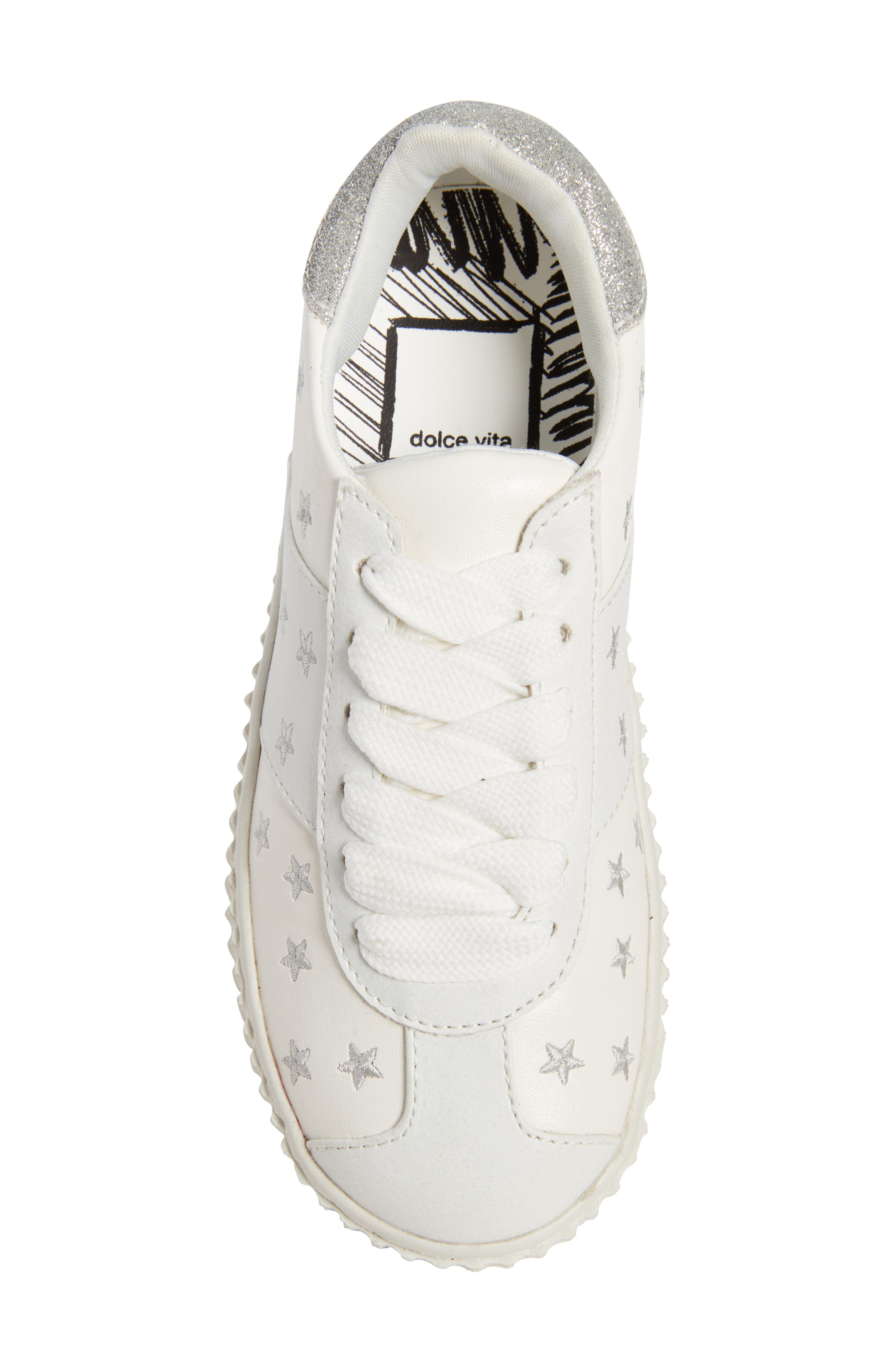 Cadin Star Creeper Sneaker,                             Alternate thumbnail 5, color,                             100