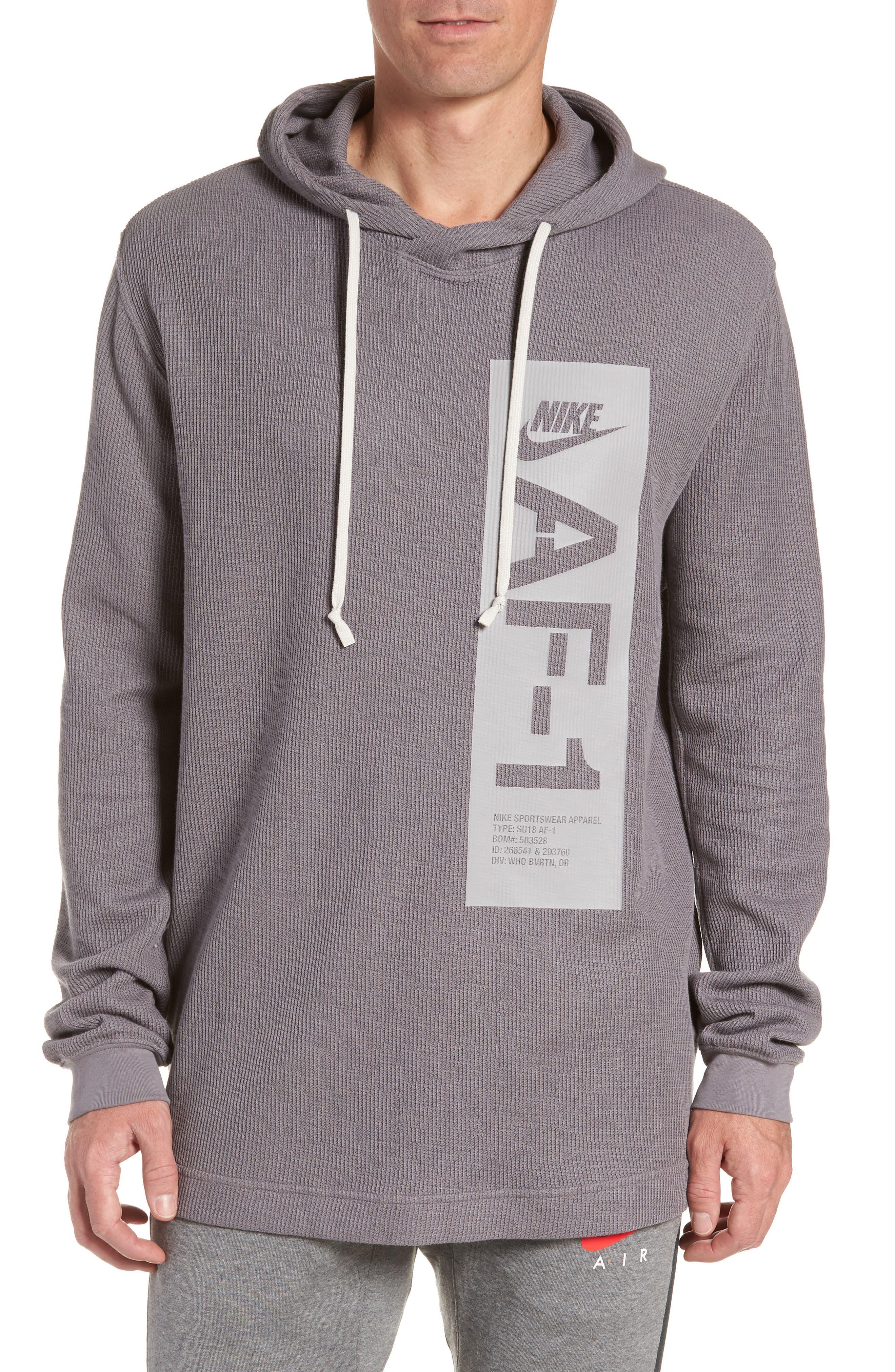 NIKE Sportswear AF-1 Hoodie, Main, color, 036