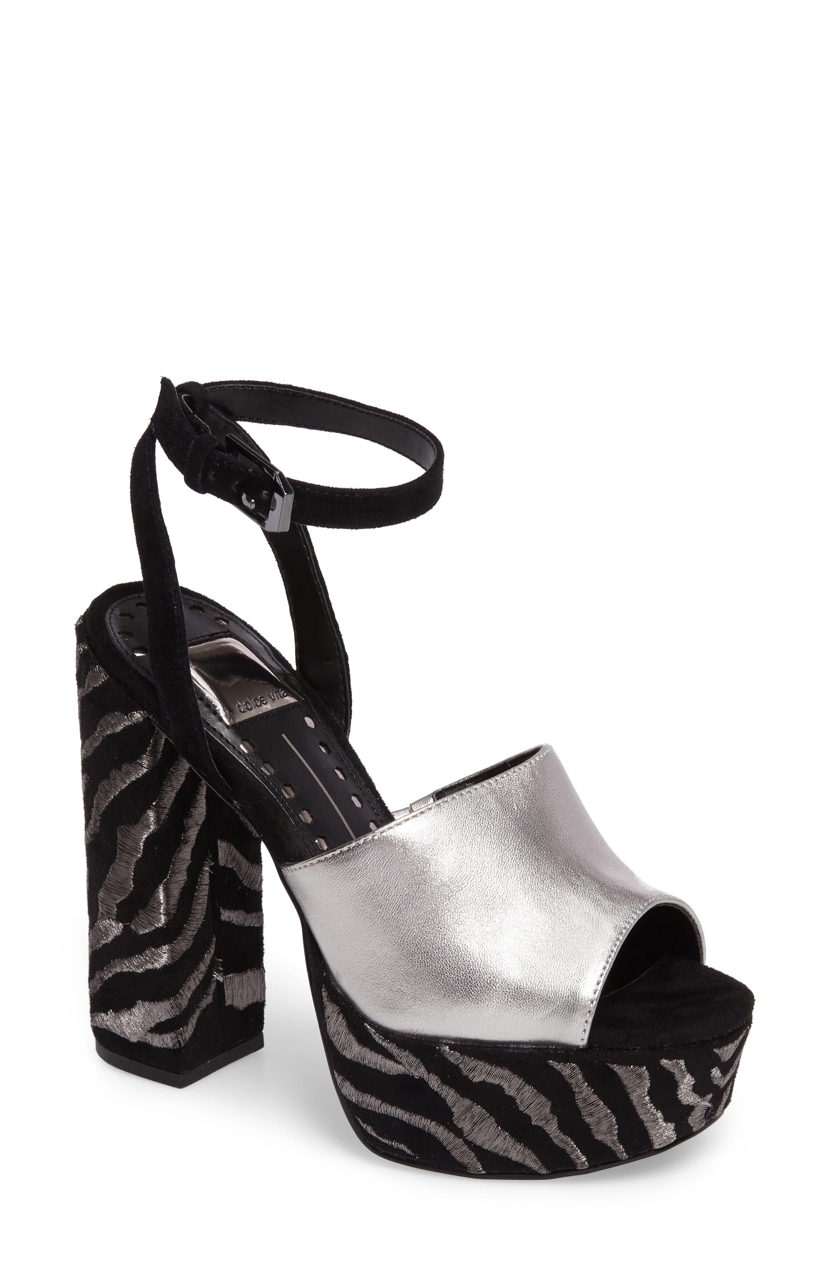 Platform Sandal,                             Main thumbnail 1, color,                             027