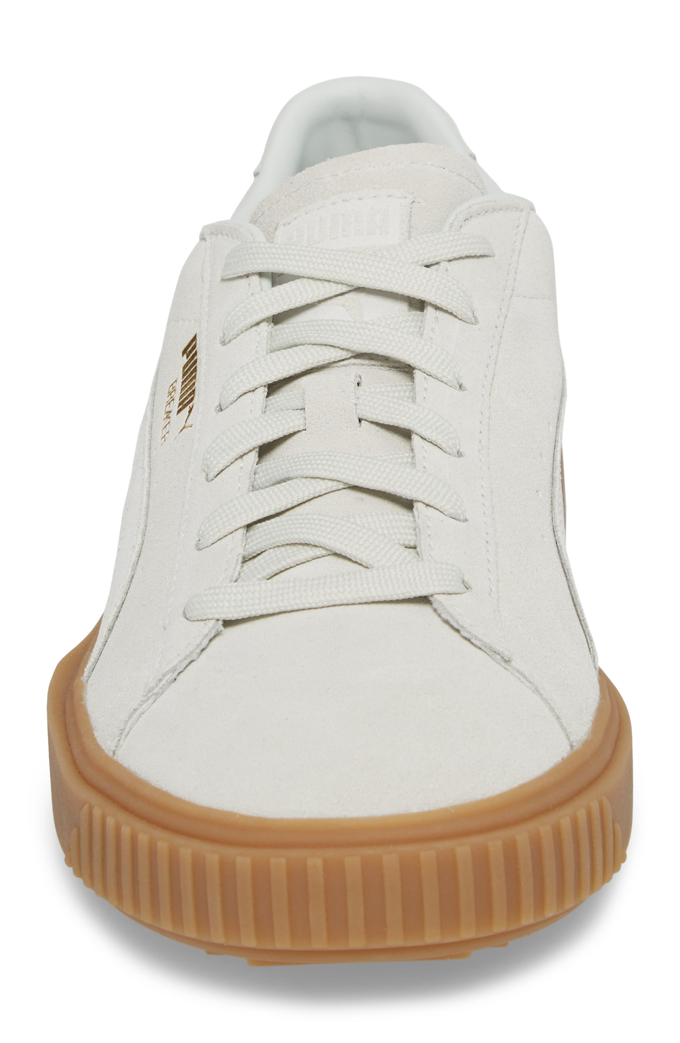 Breaker Suede Gum Low Top Sneaker,                             Alternate thumbnail 8, color,