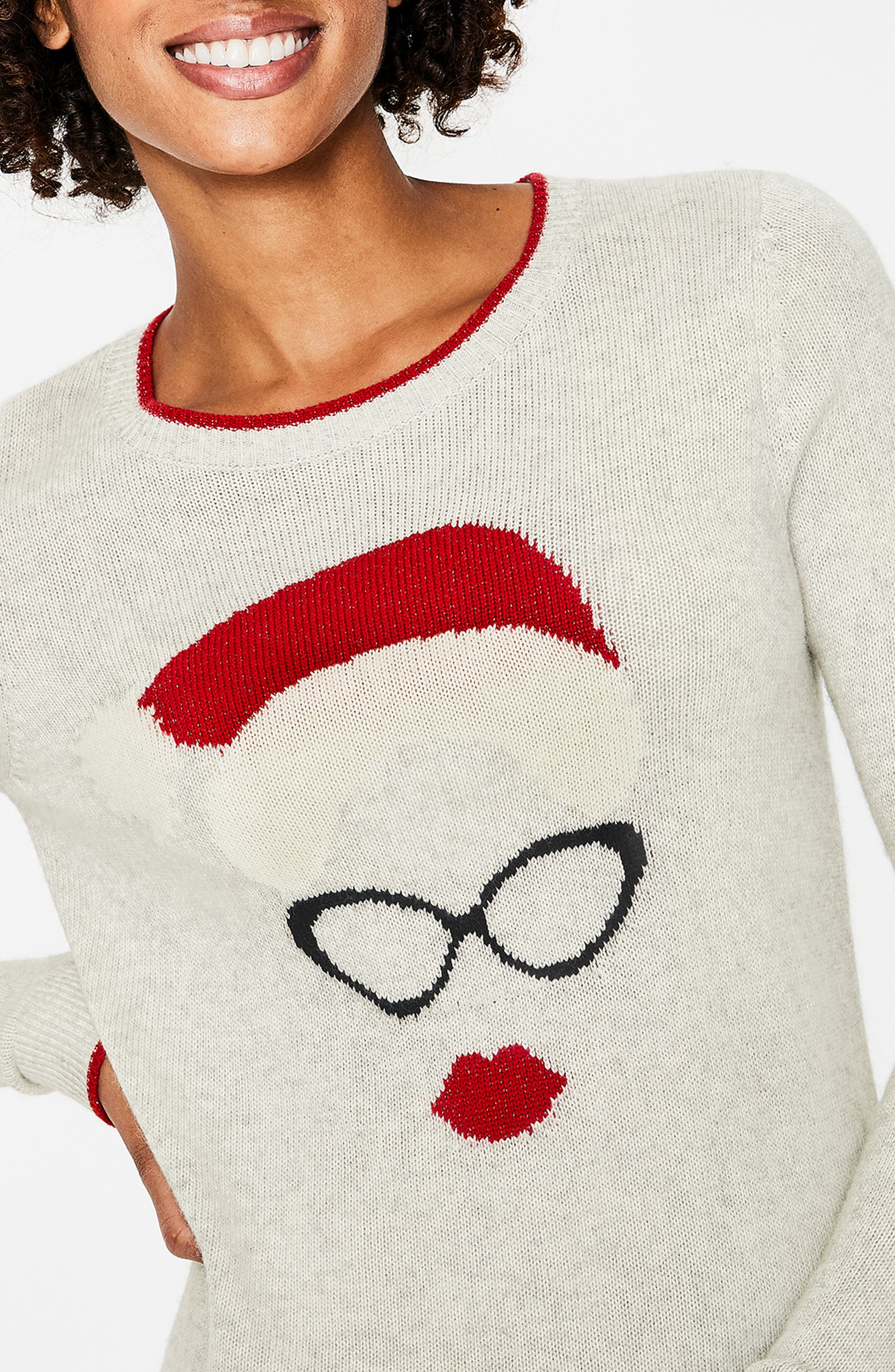 Holiday Sweater,                             Alternate thumbnail 4, color,                             024