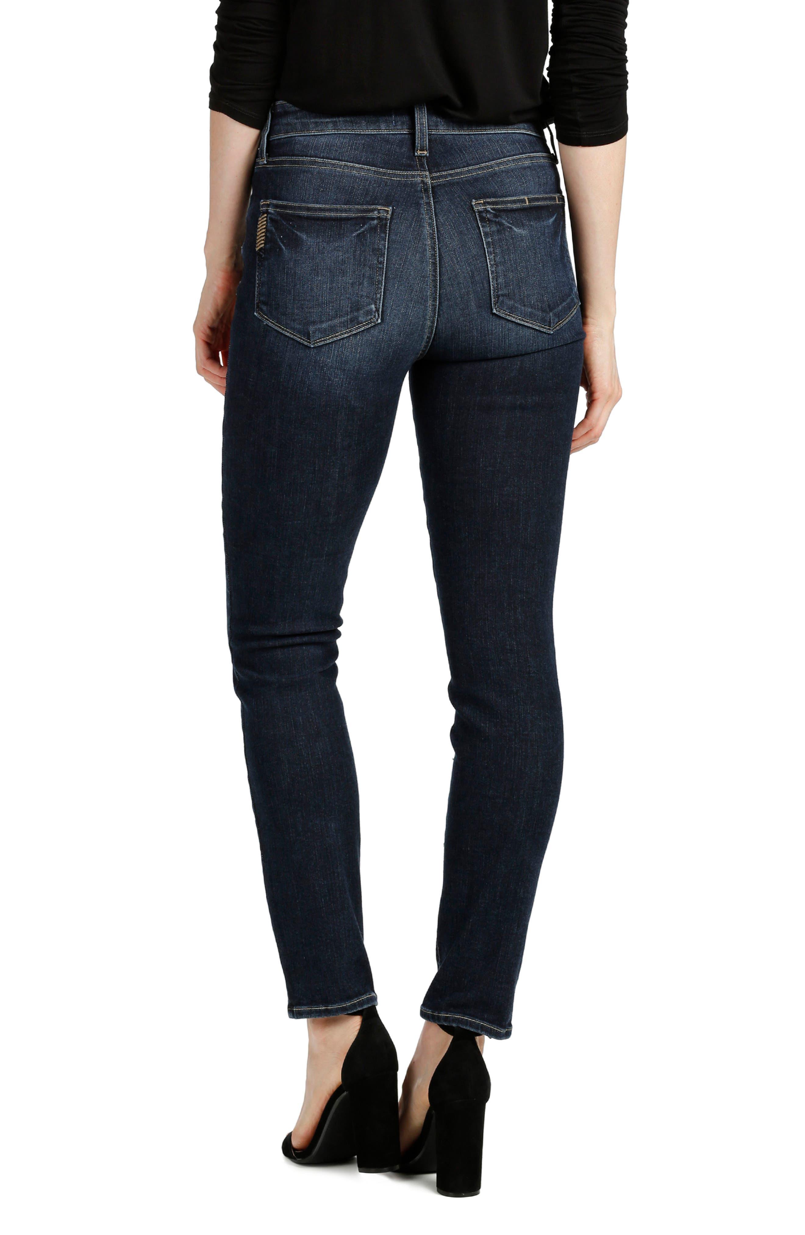 Transcend Vintage - Hoxton Ankle Peg Skinny Jeans,                             Alternate thumbnail 2, color,                             400