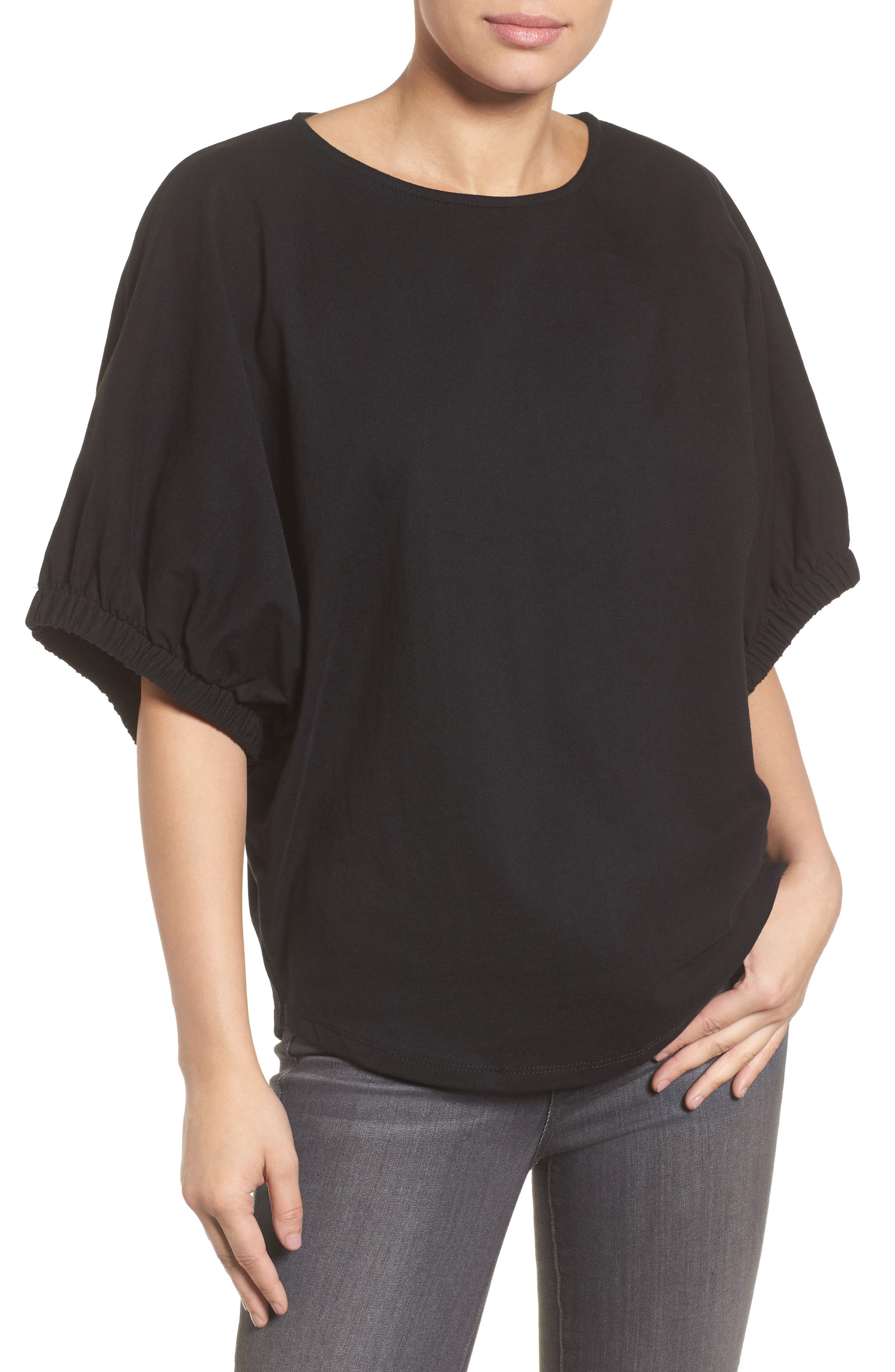 Dolman Sleeve Top,                         Main,                         color, 001