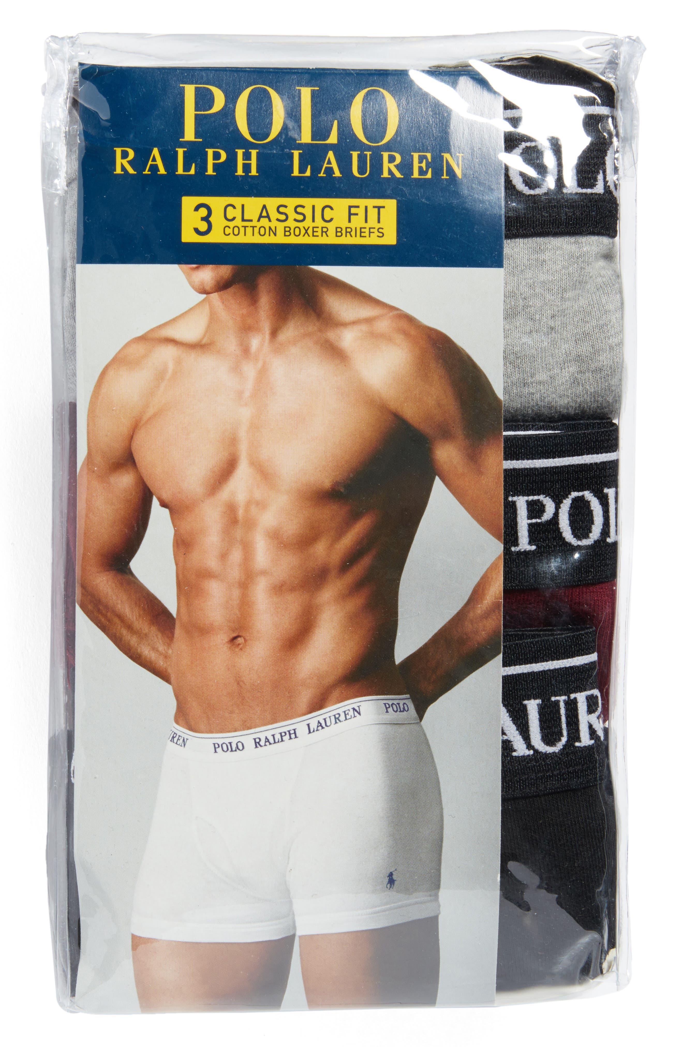 Assorted 3-Pack Cotton Boxer Briefs,                             Alternate thumbnail 5, color,                             007