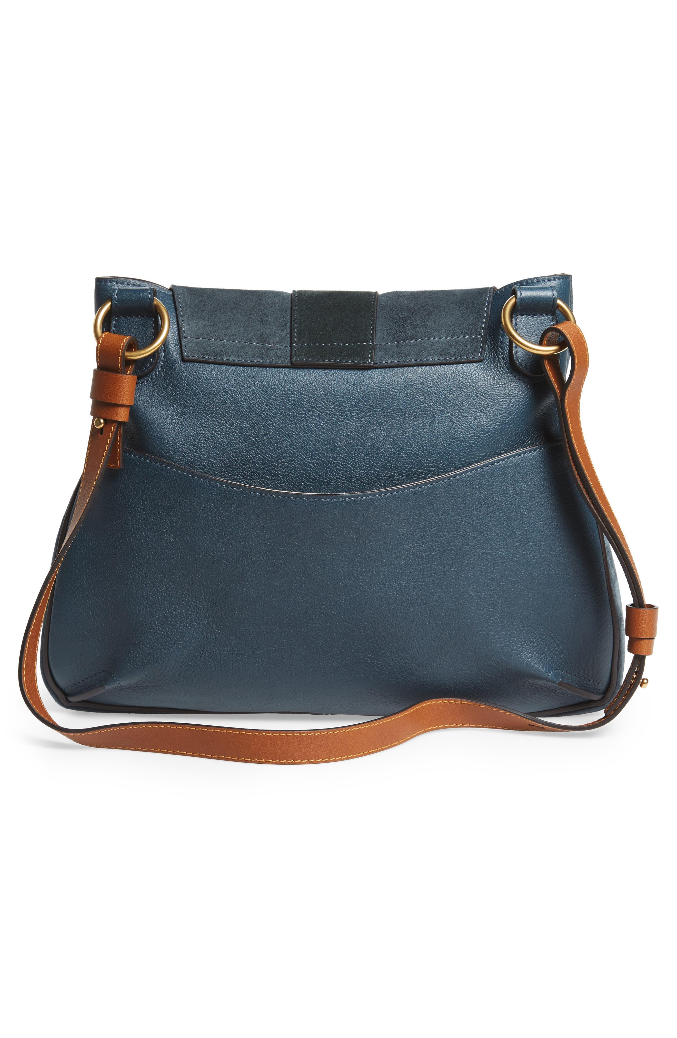 Medium Lexa Leather Shoulder Bag,                             Alternate thumbnail 6, color,