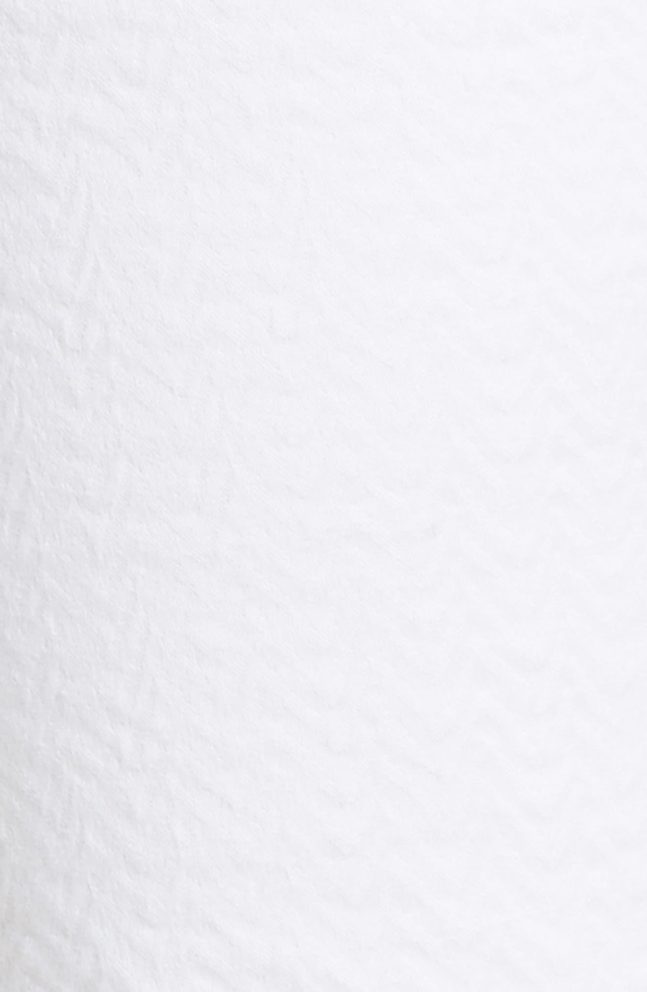 Thompson Straight Leg Jeans,                             Alternate thumbnail 6, color,                             WHITE