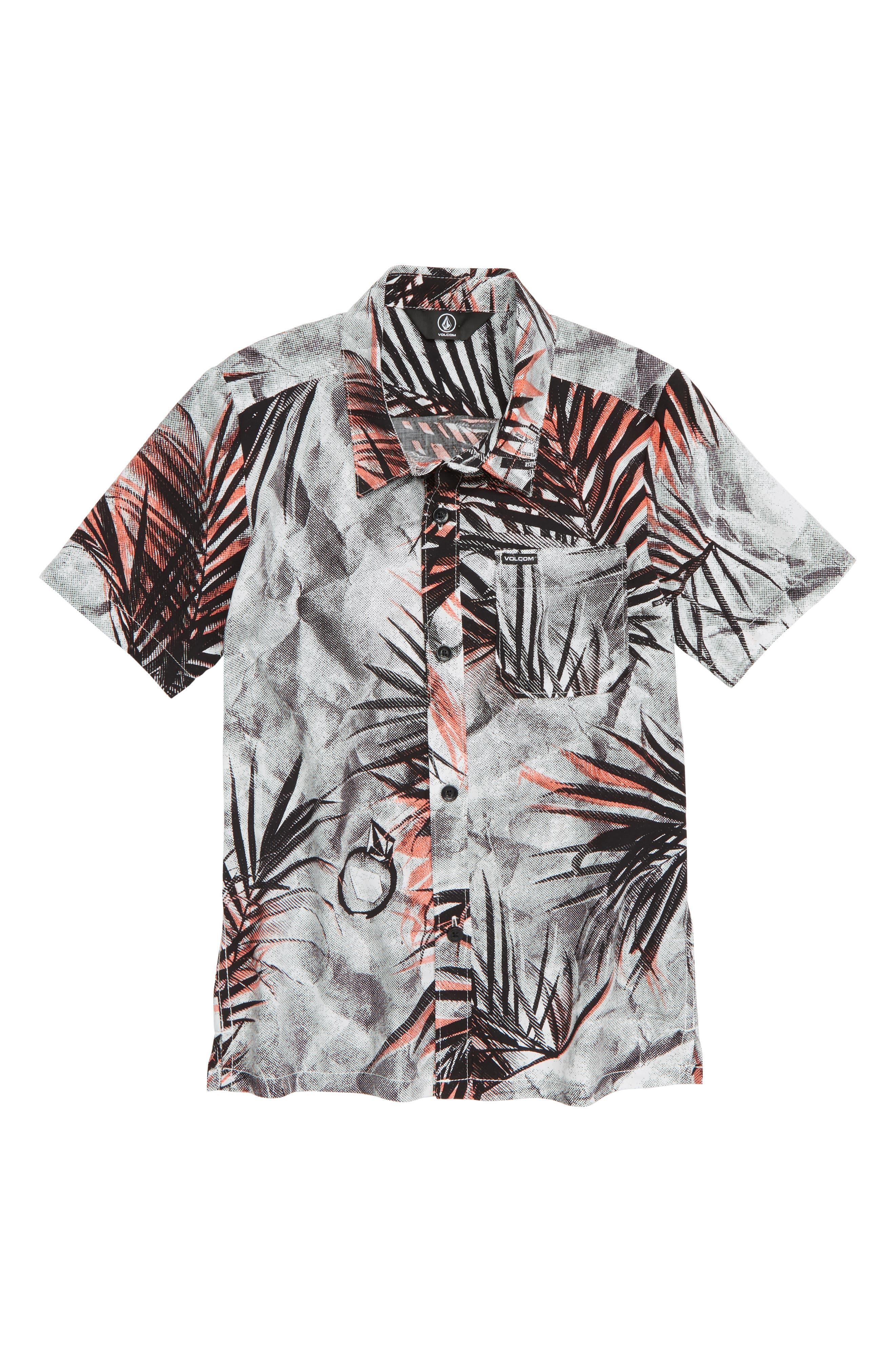 More Something Print Woven Shirt,                             Main thumbnail 1, color,                             100