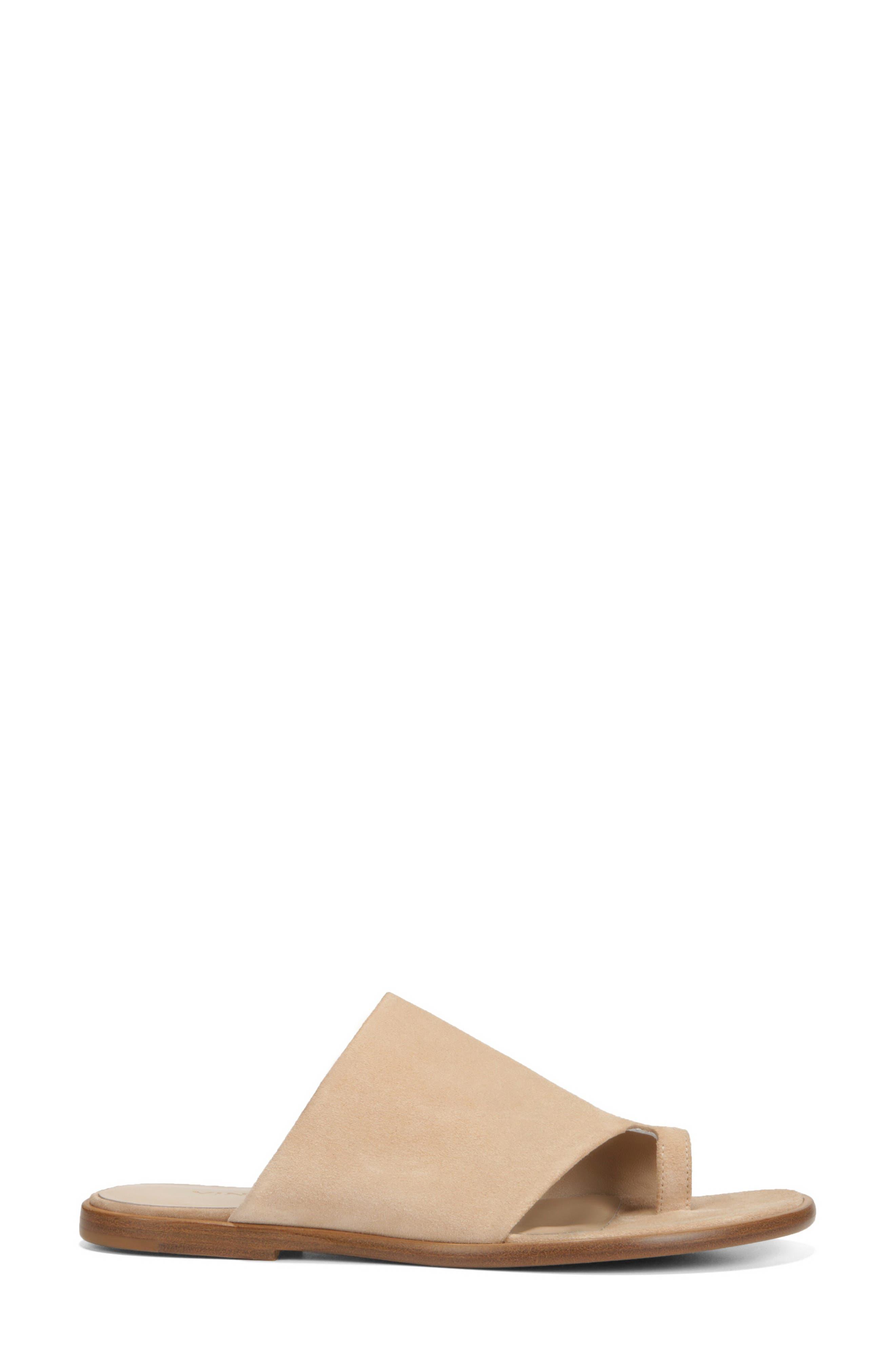 Edris Toe Loop Sandal,                             Alternate thumbnail 3, color,                             SAND