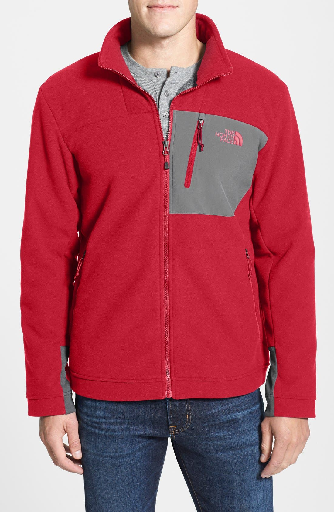 'Chimborazo' Zip Front Fleece Jacket,                             Main thumbnail 16, color,