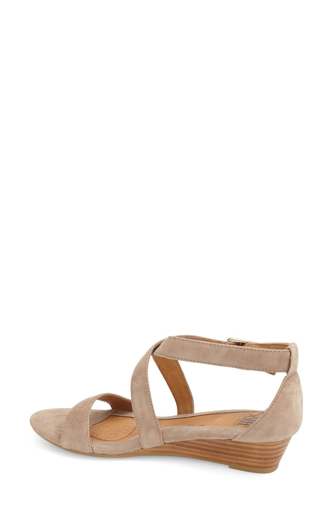 'Innis' Low Wedge Sandal,                             Alternate thumbnail 21, color,