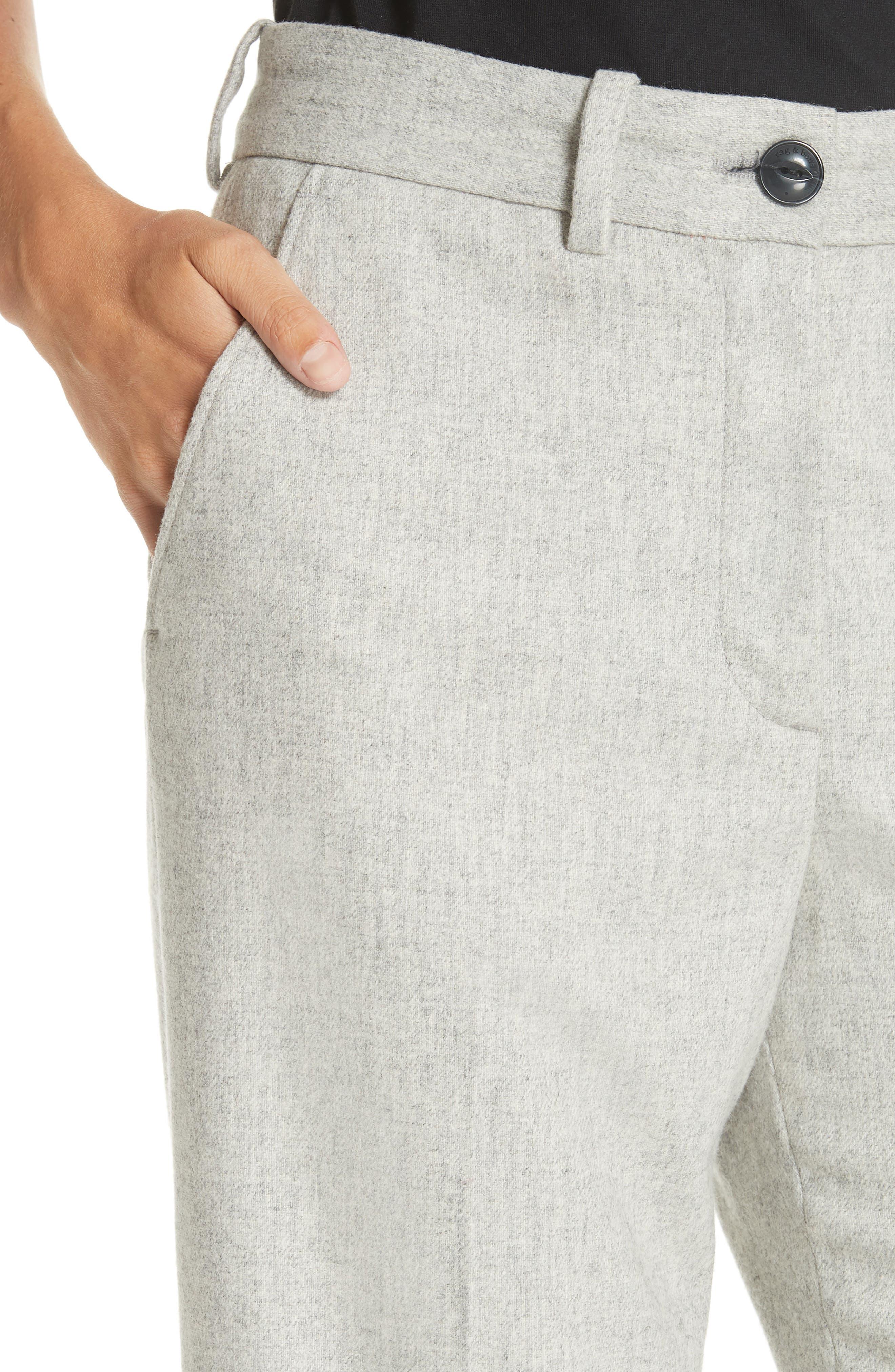 RAG & BONE,                             Libby Crop Flare Pants,                             Alternate thumbnail 4, color,                             020