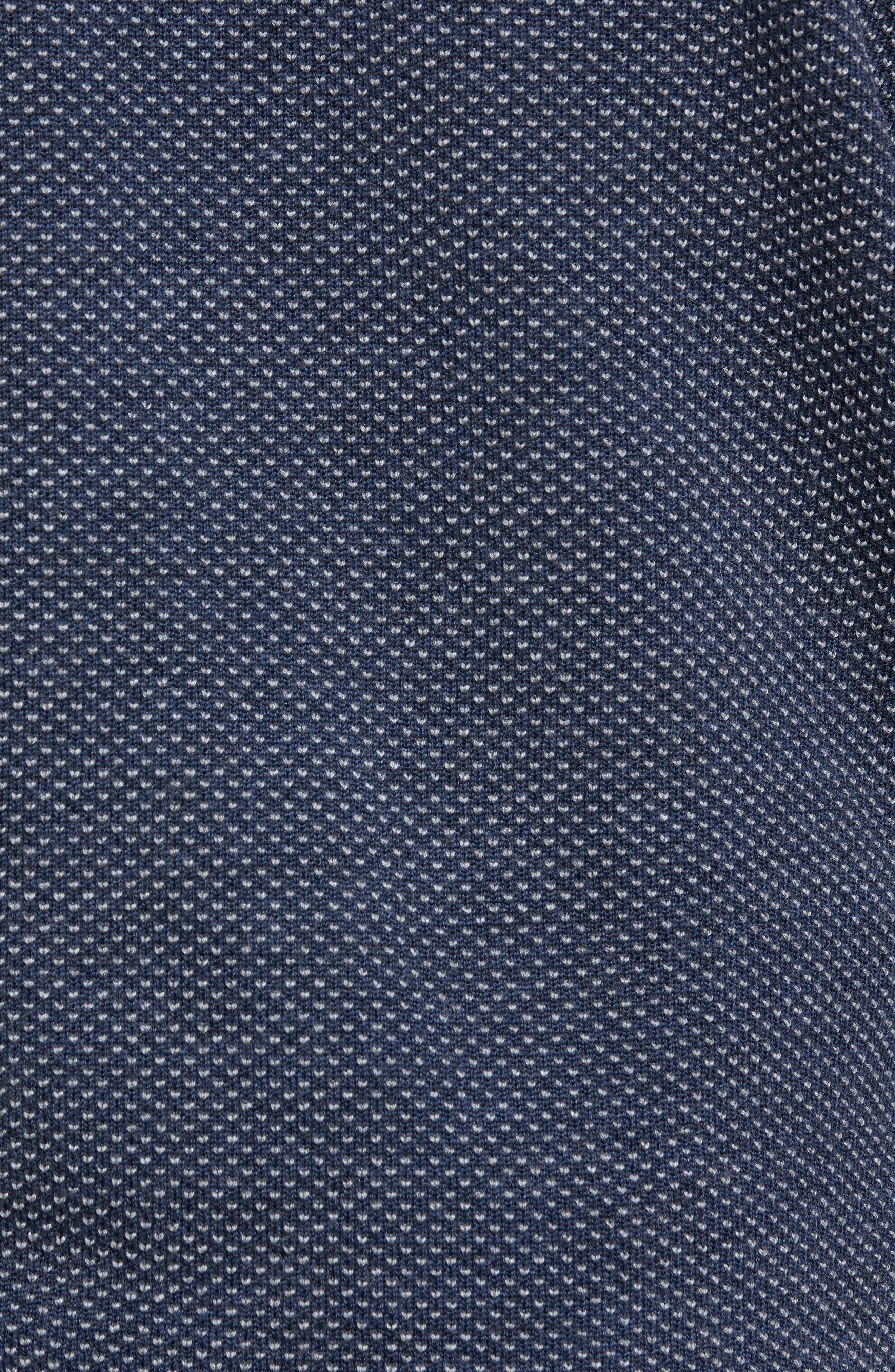 Textured Merino Wool Sweater,                             Alternate thumbnail 5, color,                             410