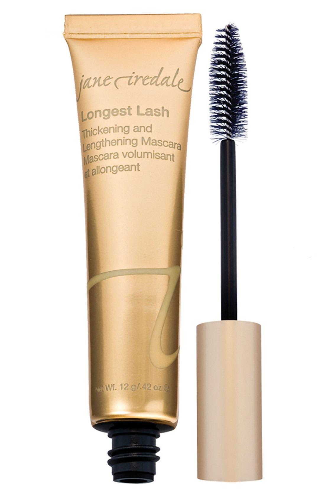 Longest Lash Thickening & Lengthening Mascara,                             Main thumbnail 1, color,                             BLACK ICE