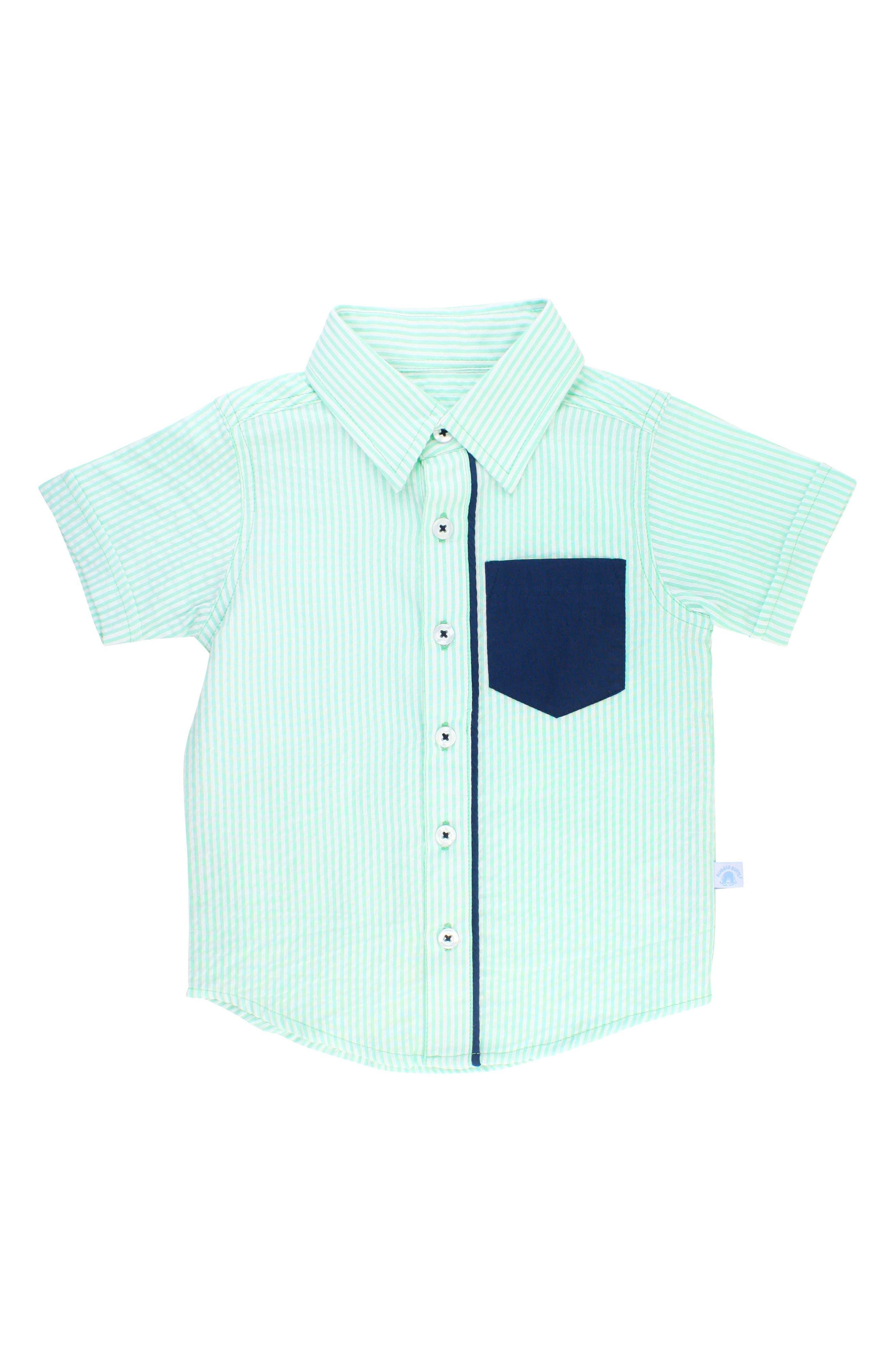Seersucker Stripe Woven Shirt,                         Main,                         color, 300