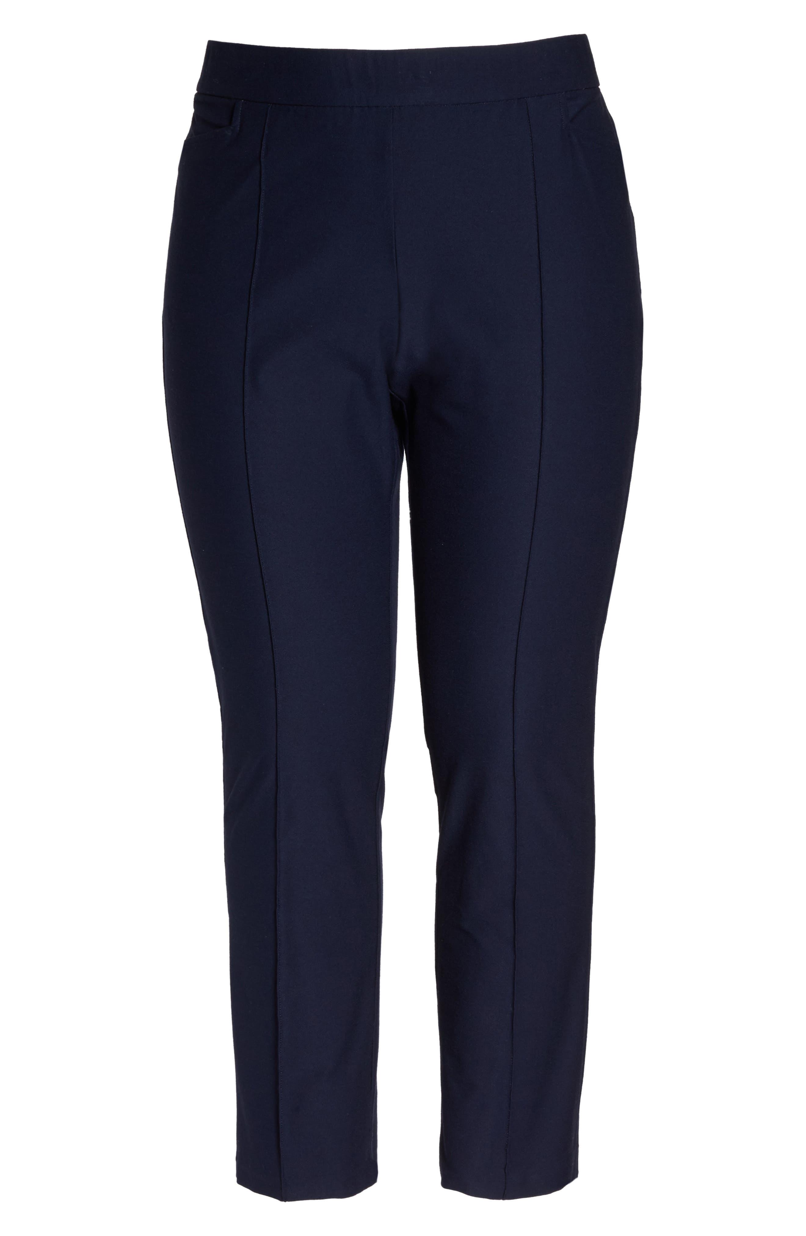 Slim Bootcut Pants,                             Alternate thumbnail 7, color,